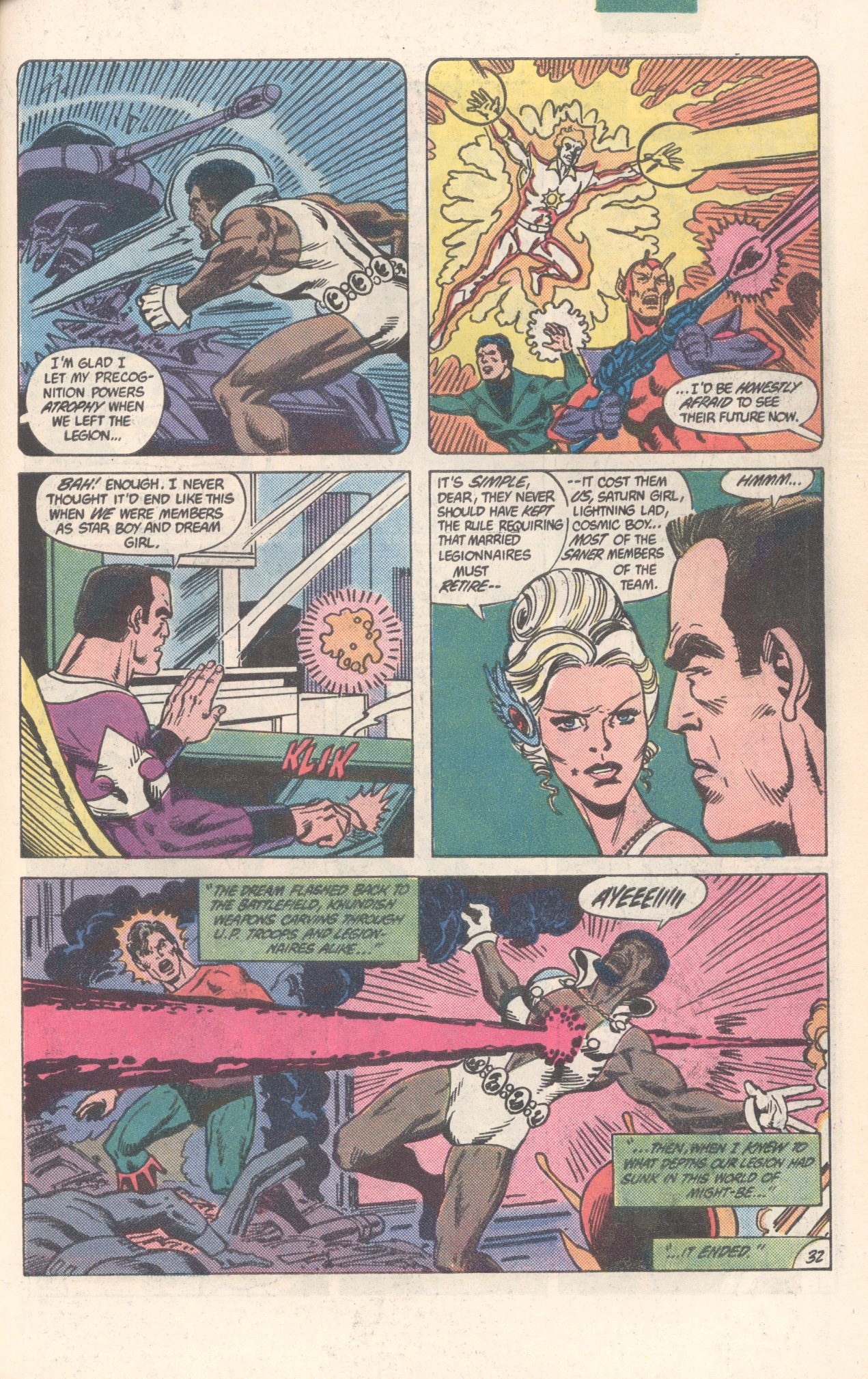 Legion of Super-Heroes (1980) 300 Page 32