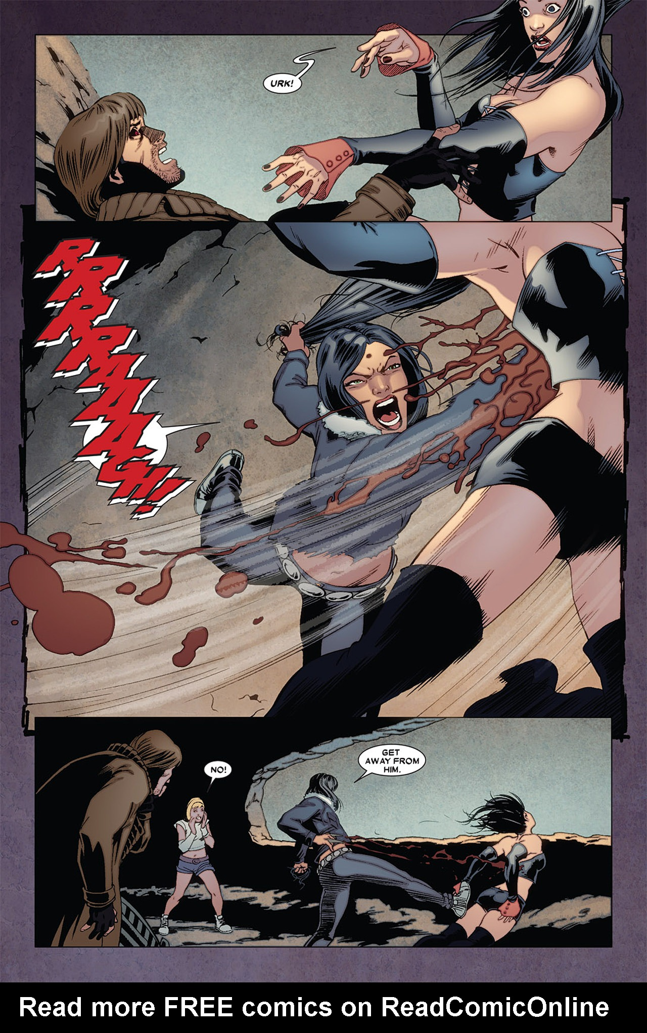 Read online X-23 (2010) comic -  Issue #5 - 22