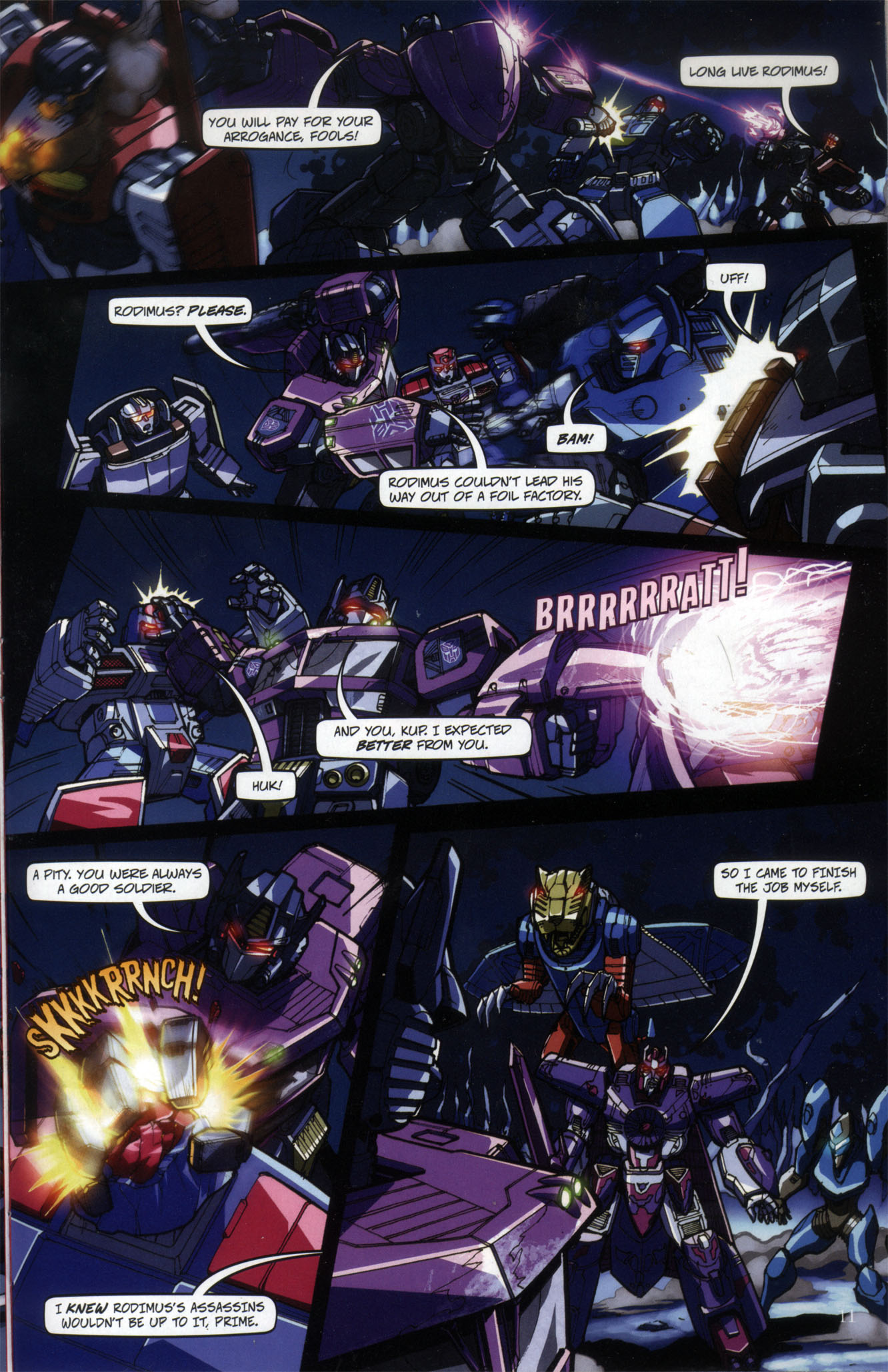 Read online Transformers: Collectors' Club comic -  Issue #29 - 11