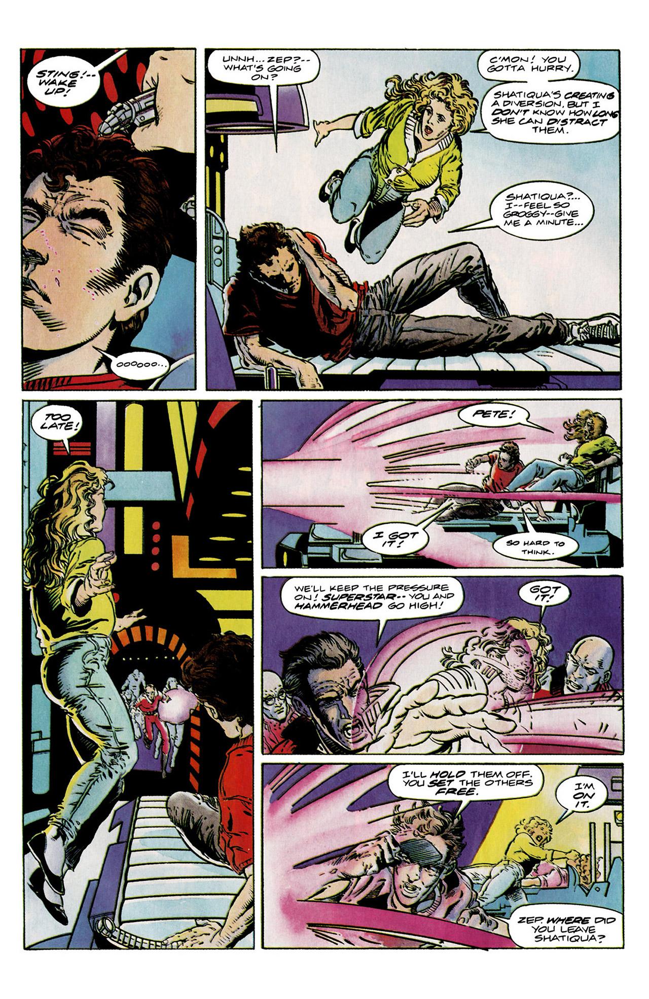 Read online Harbinger (1992) comic -  Issue #11 - 16