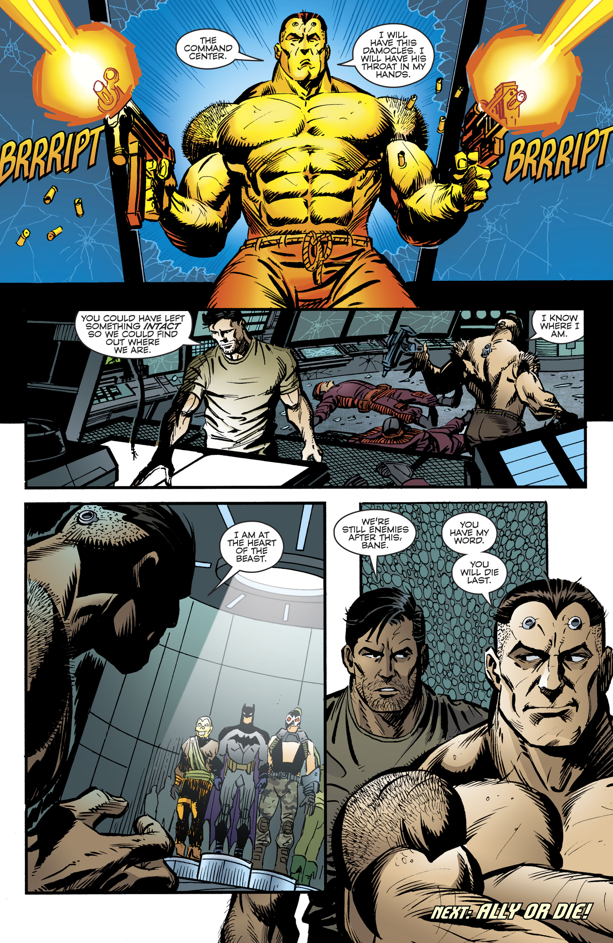 Read online Bane: Conquest comic -  Issue #2 - 22