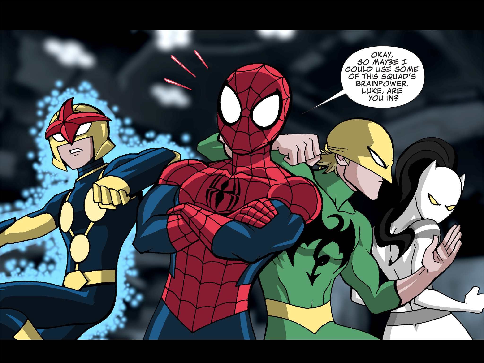 Read online Ultimate Spider-Man (Infinite Comics) (2015) comic -  Issue #21 - 13