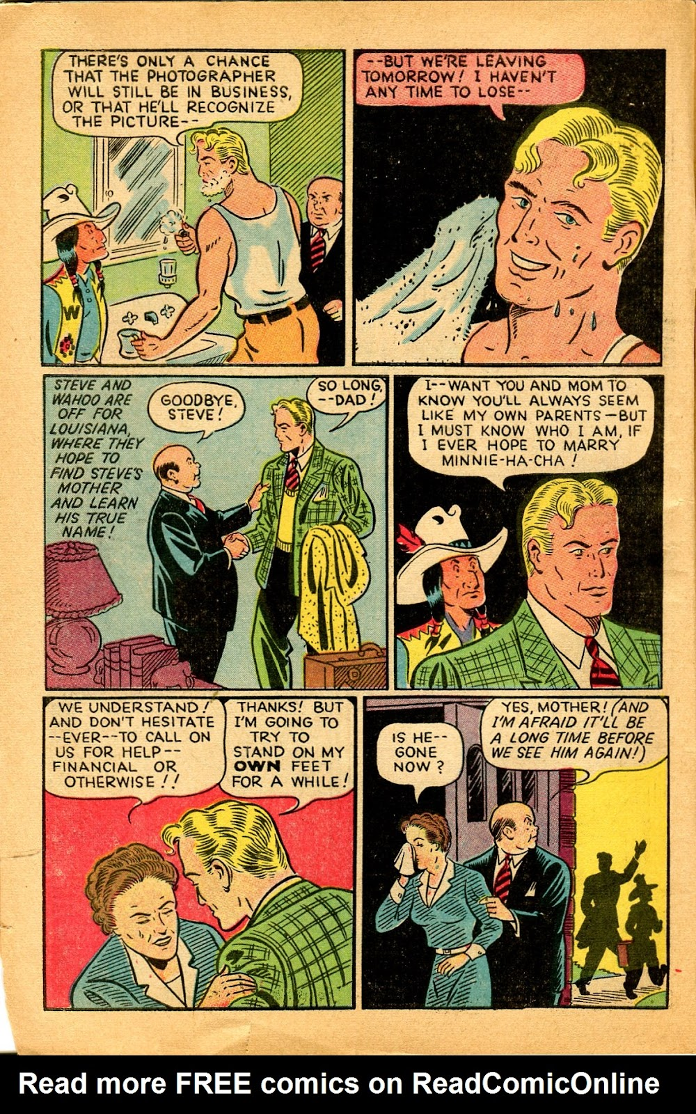 Read online Famous Funnies comic -  Issue #159 - 6
