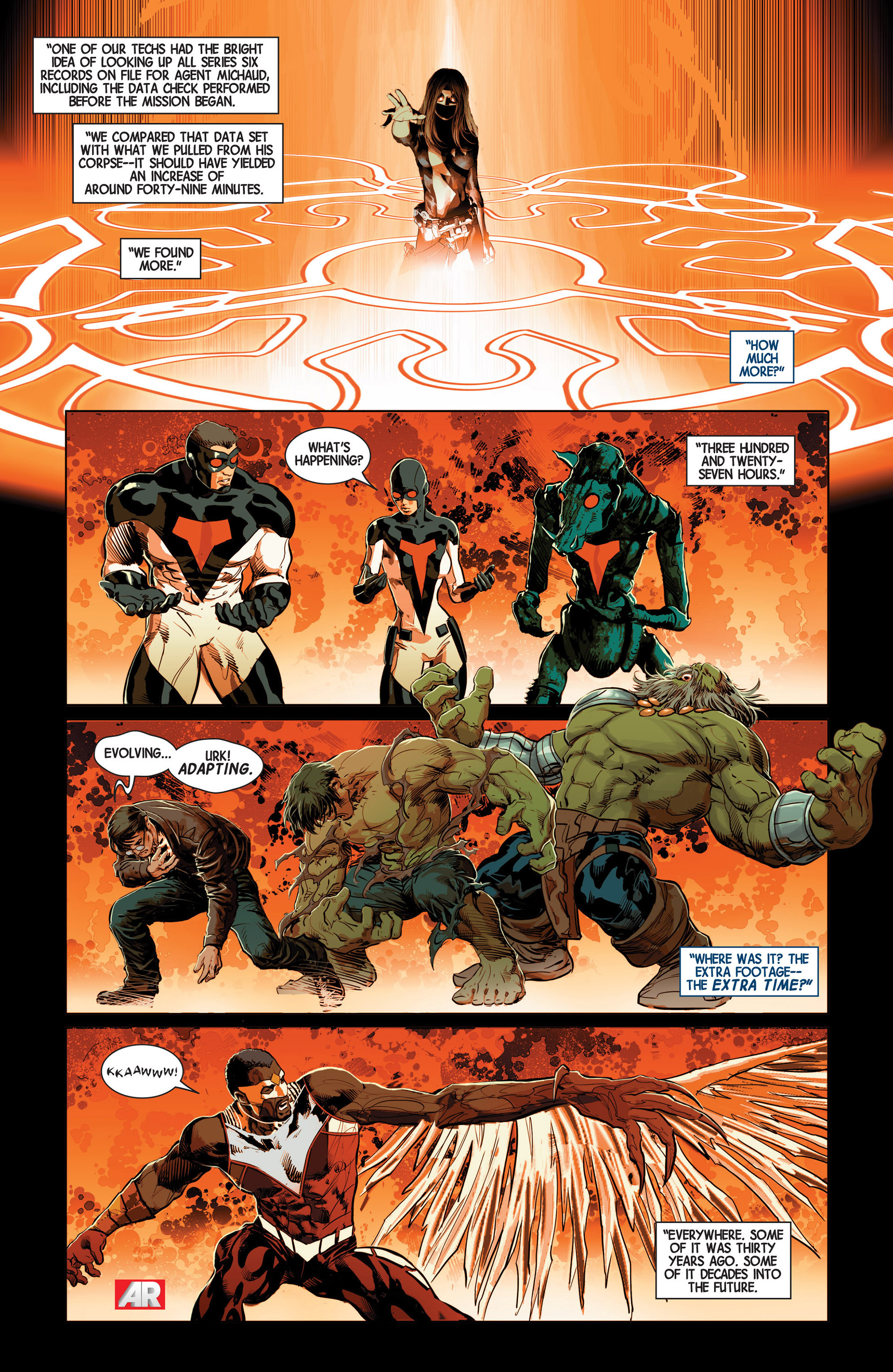Read online Avengers (2013) comic -  Issue #10 - 22