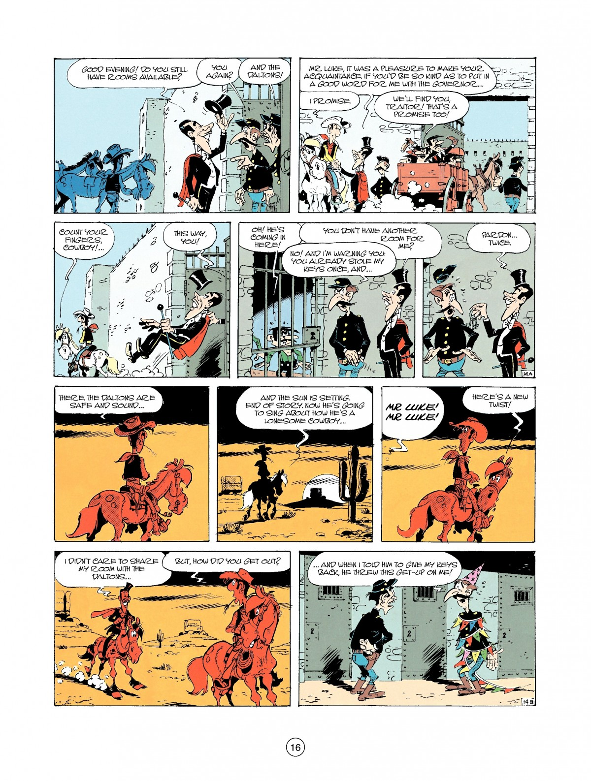 Read online A Lucky Luke Adventure comic -  Issue #37 - 16