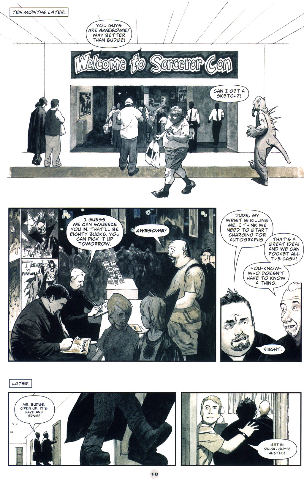 Read online Solo (2004) comic -  Issue #9 - 19