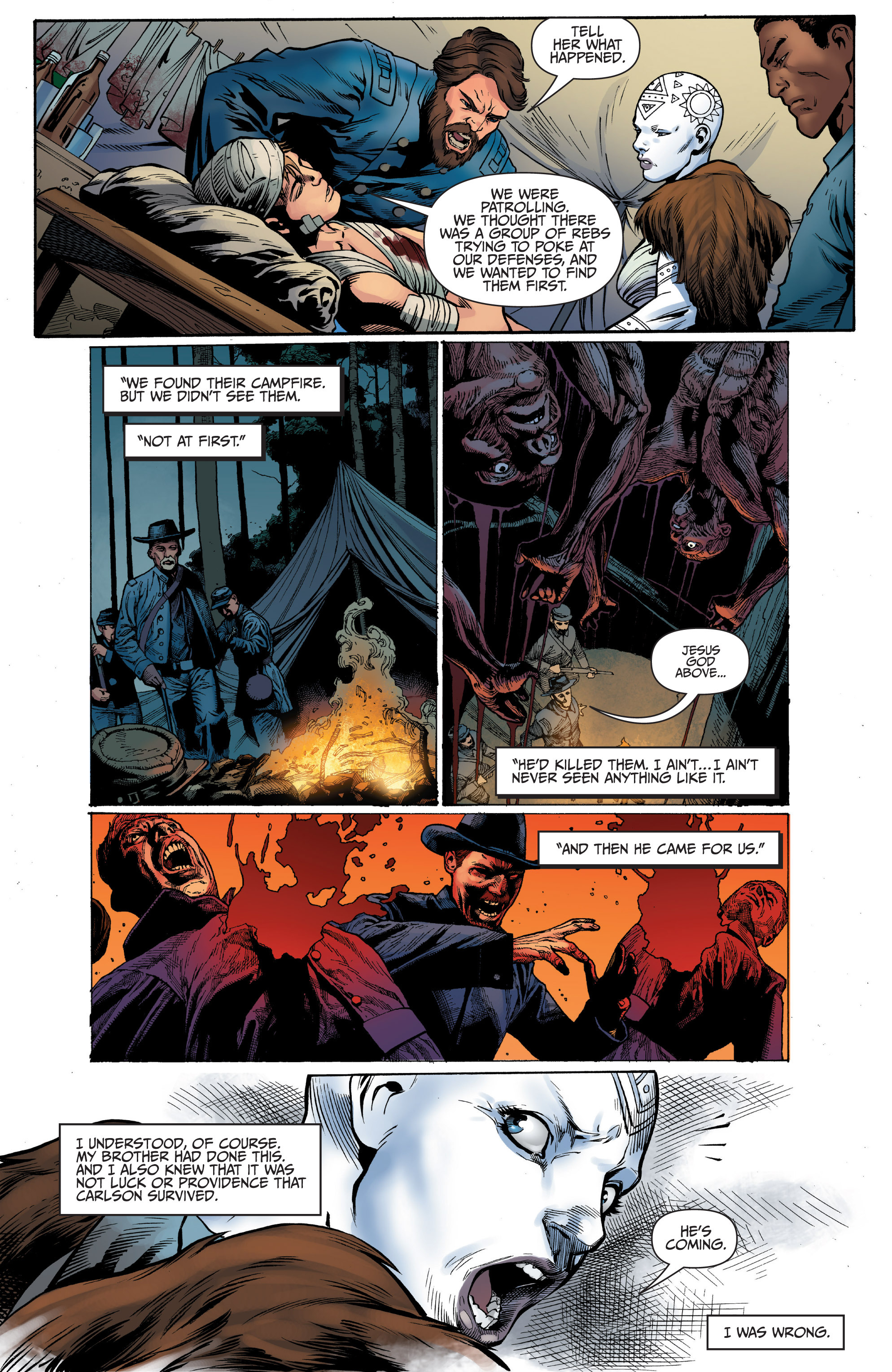 Read online Shadowman (2012) comic -  Issue #10 - 13