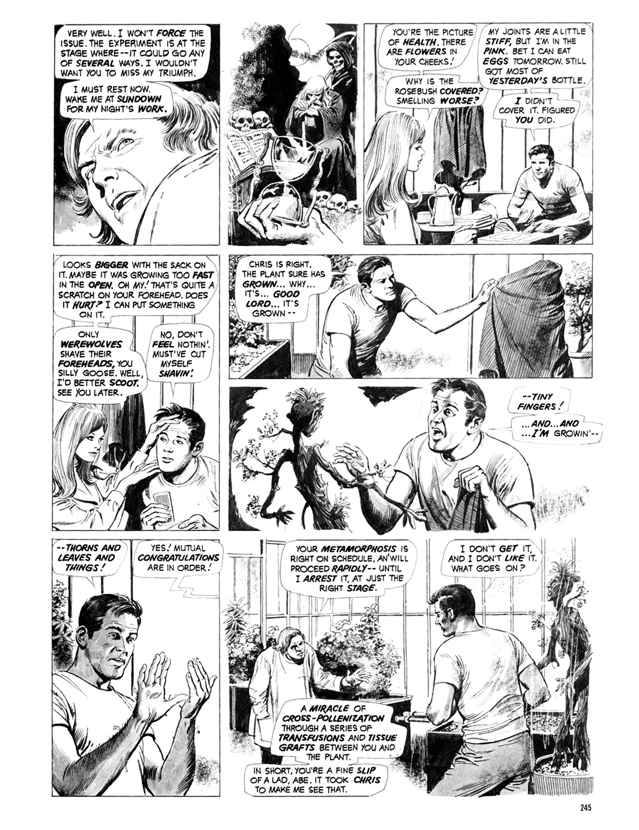 Read online Eerie Archives comic -  Issue # TPB 9 - 246