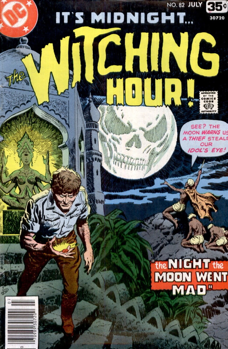 The Witching Hour (1969) issue 82 - Page 1