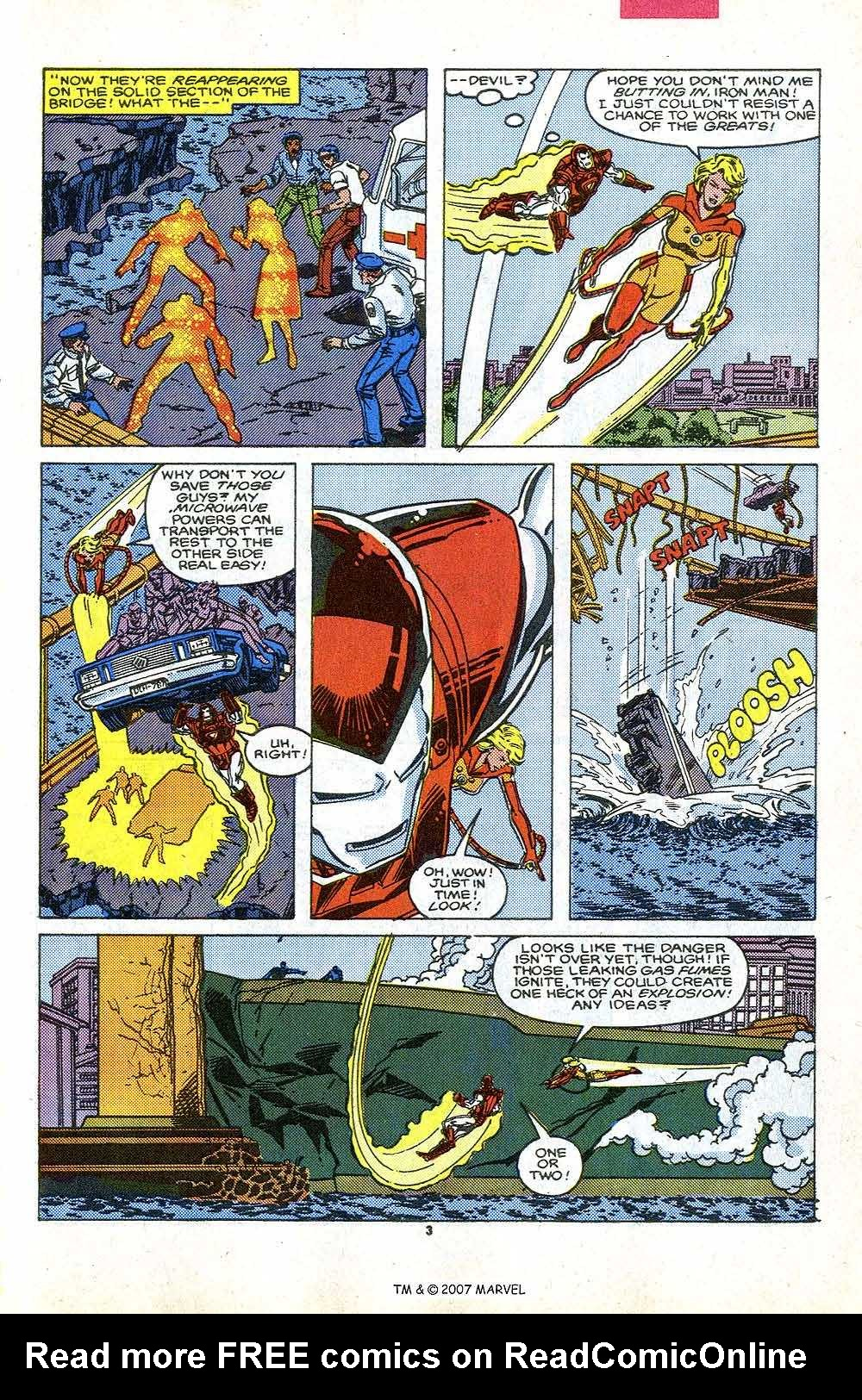 Iron Man Annual issue 9 - Page 5
