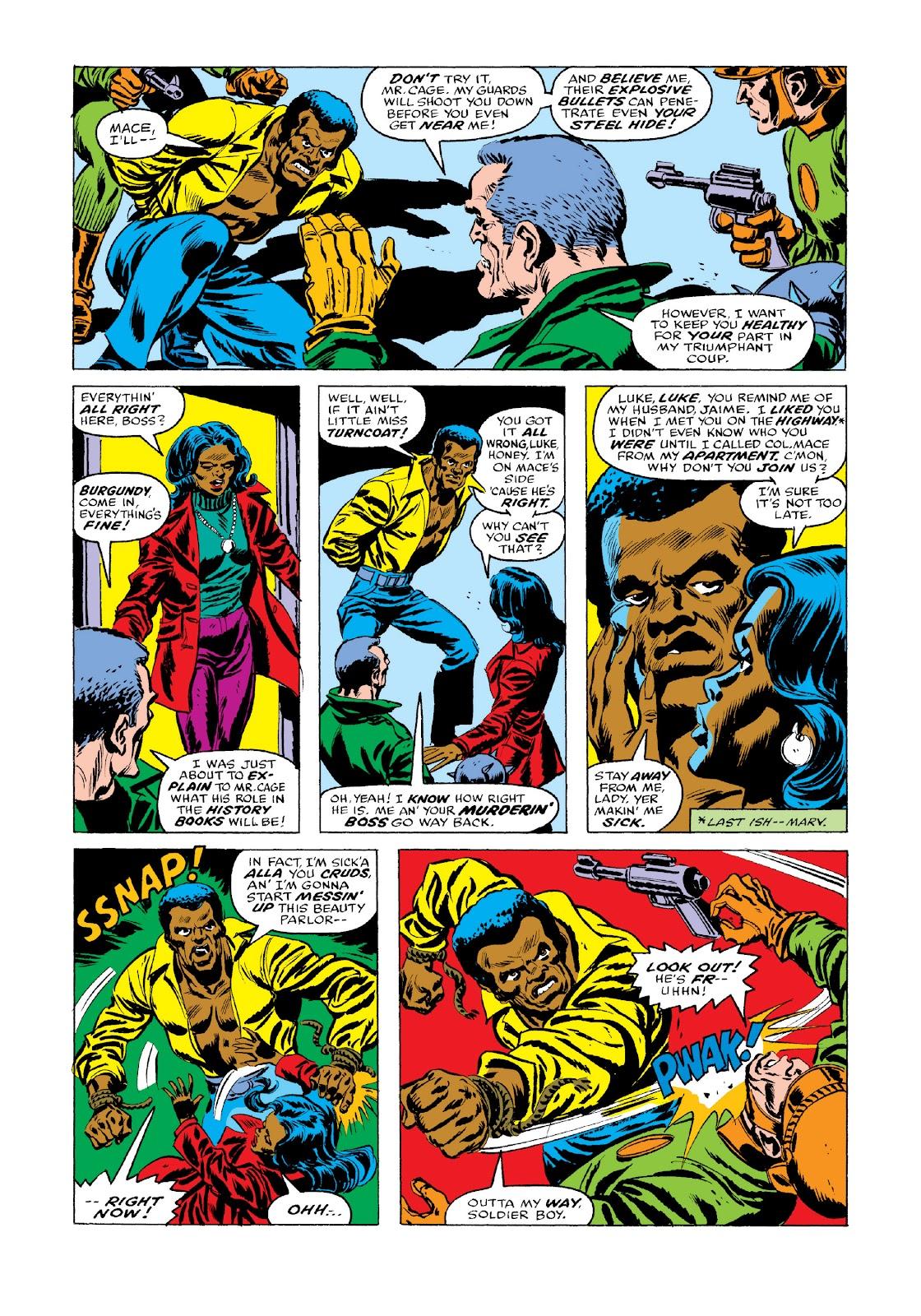 Read online Marvel Masterworks: Luke Cage, Power Man comic -  Issue # TPB 3 (Part 3) - 49
