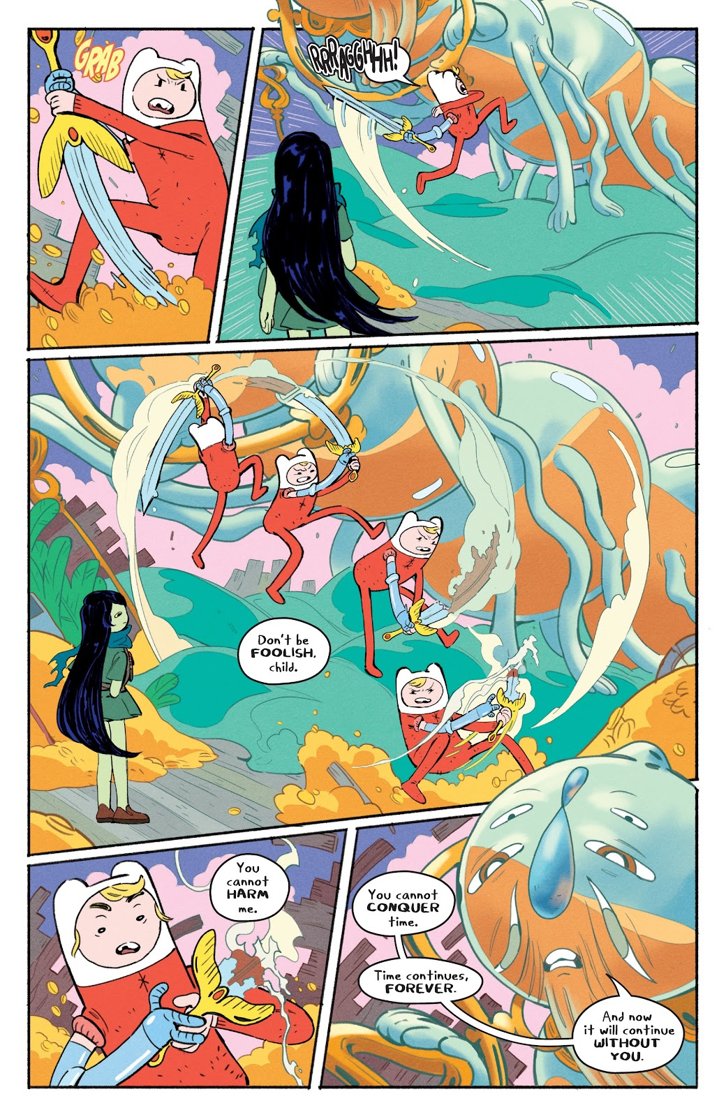 Read online Adventure Time: Beginning of the End comic -  Issue # _TPB - 15