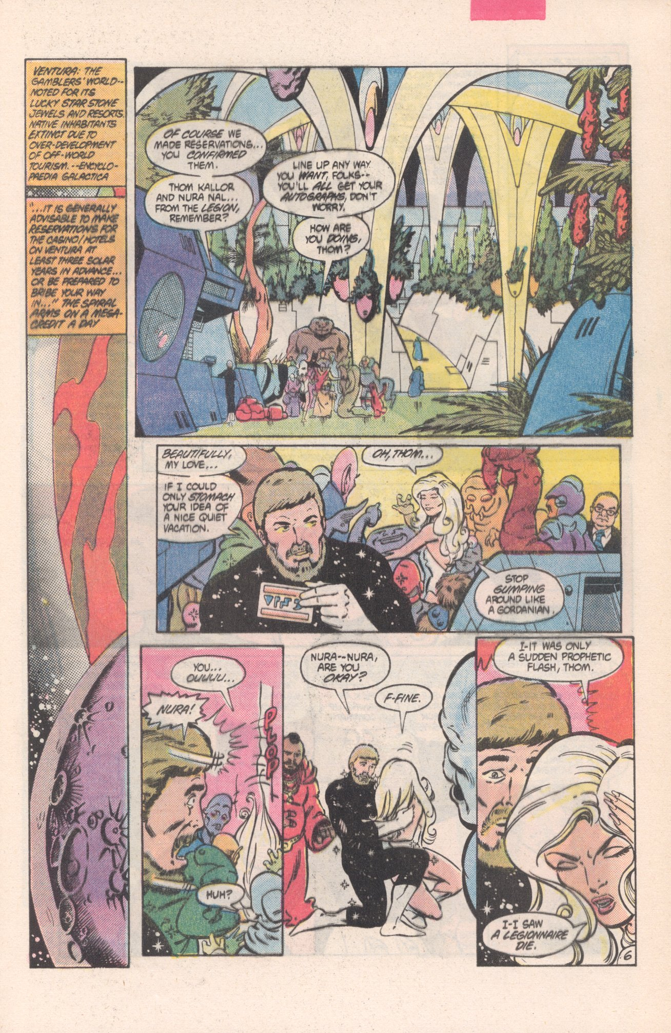 Legion of Super-Heroes (1980) 313 Page 6