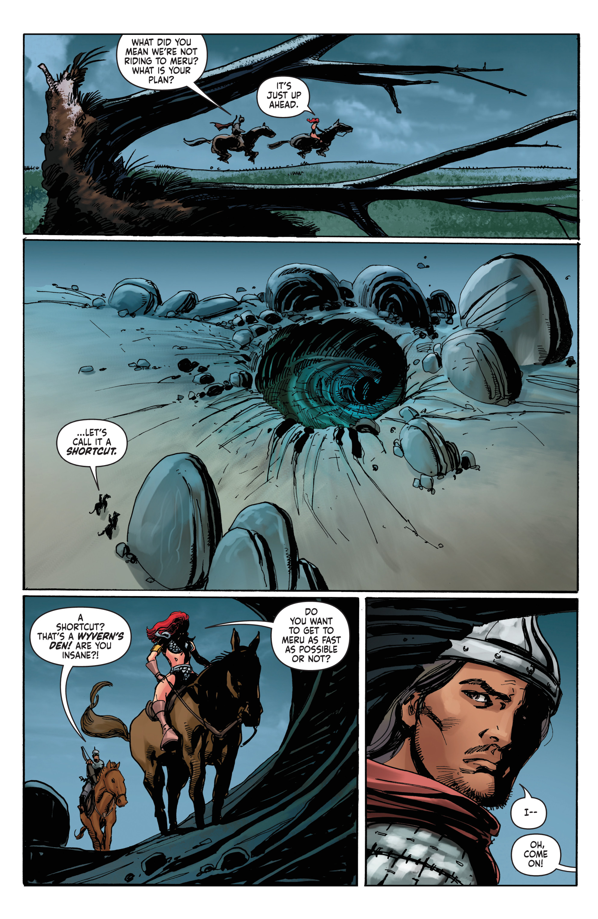 Read online Red Sonja: The Long Walk To Oblivion comic -  Issue # Full - 20