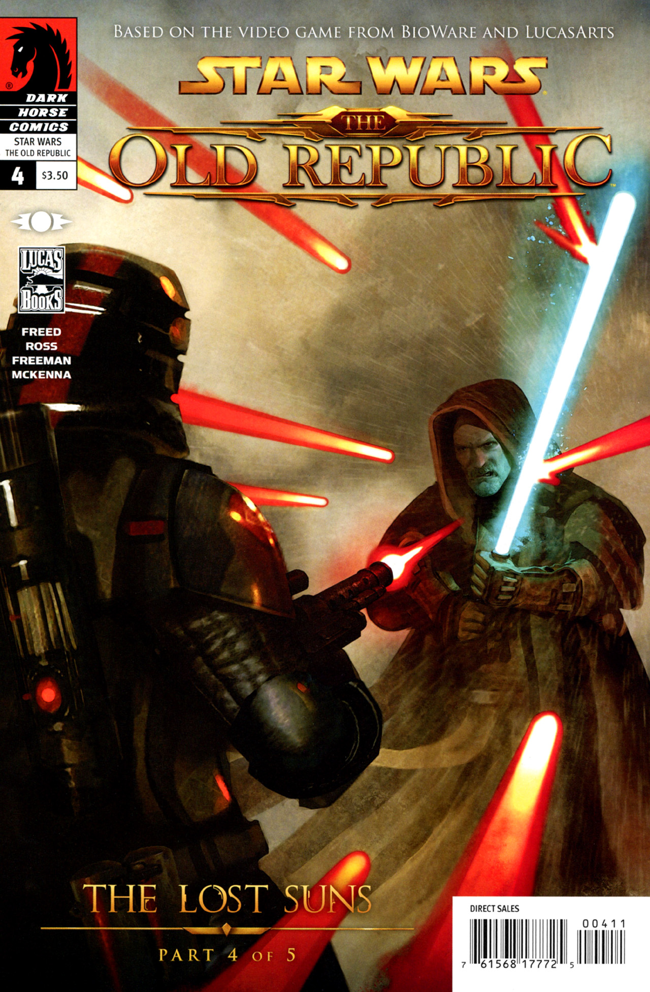 Read online Star Wars: The Old Republic - The Lost Suns comic -  Issue #4 - 1