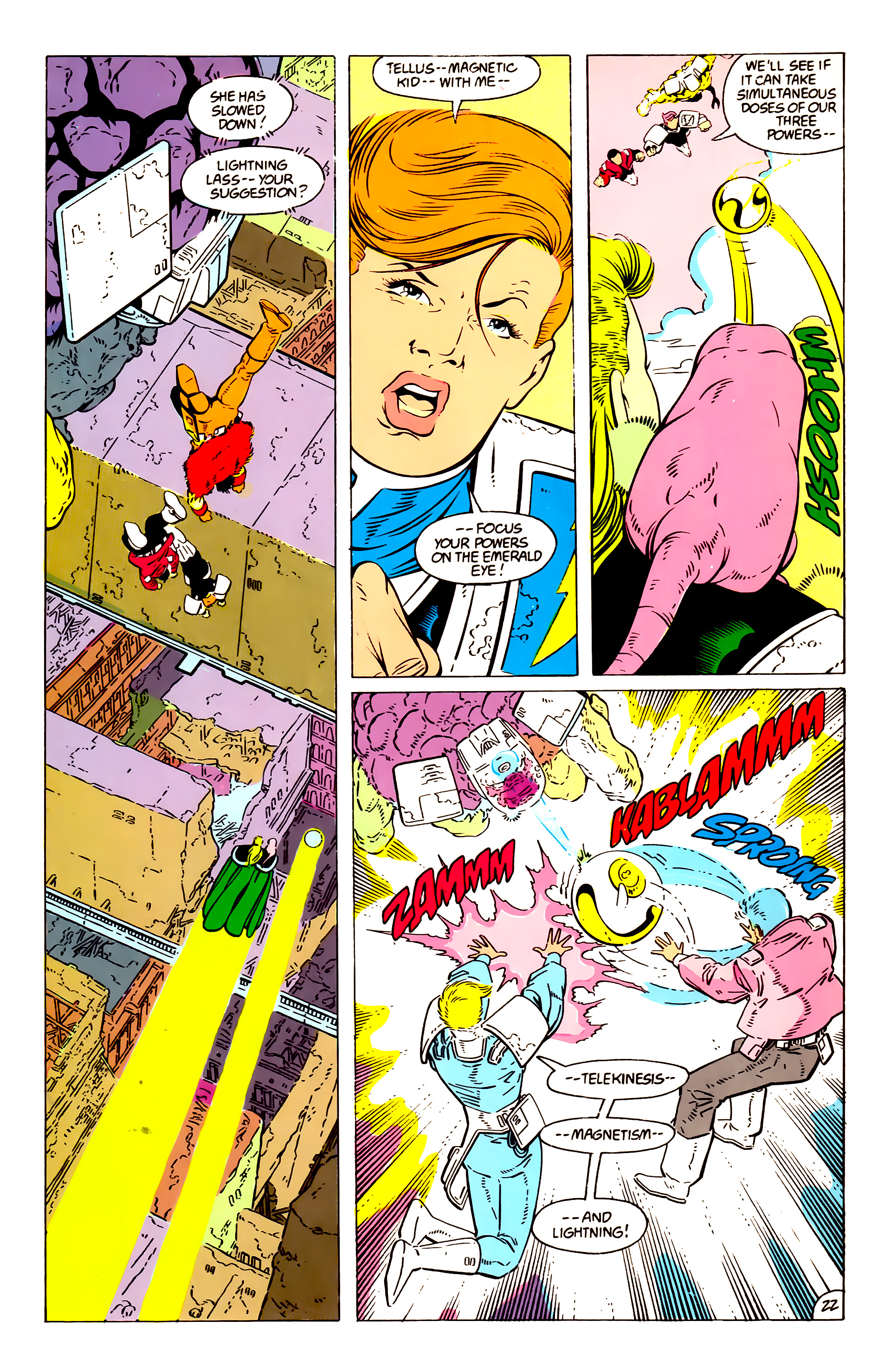 Legion of Super-Heroes (1984) 57 Page 22