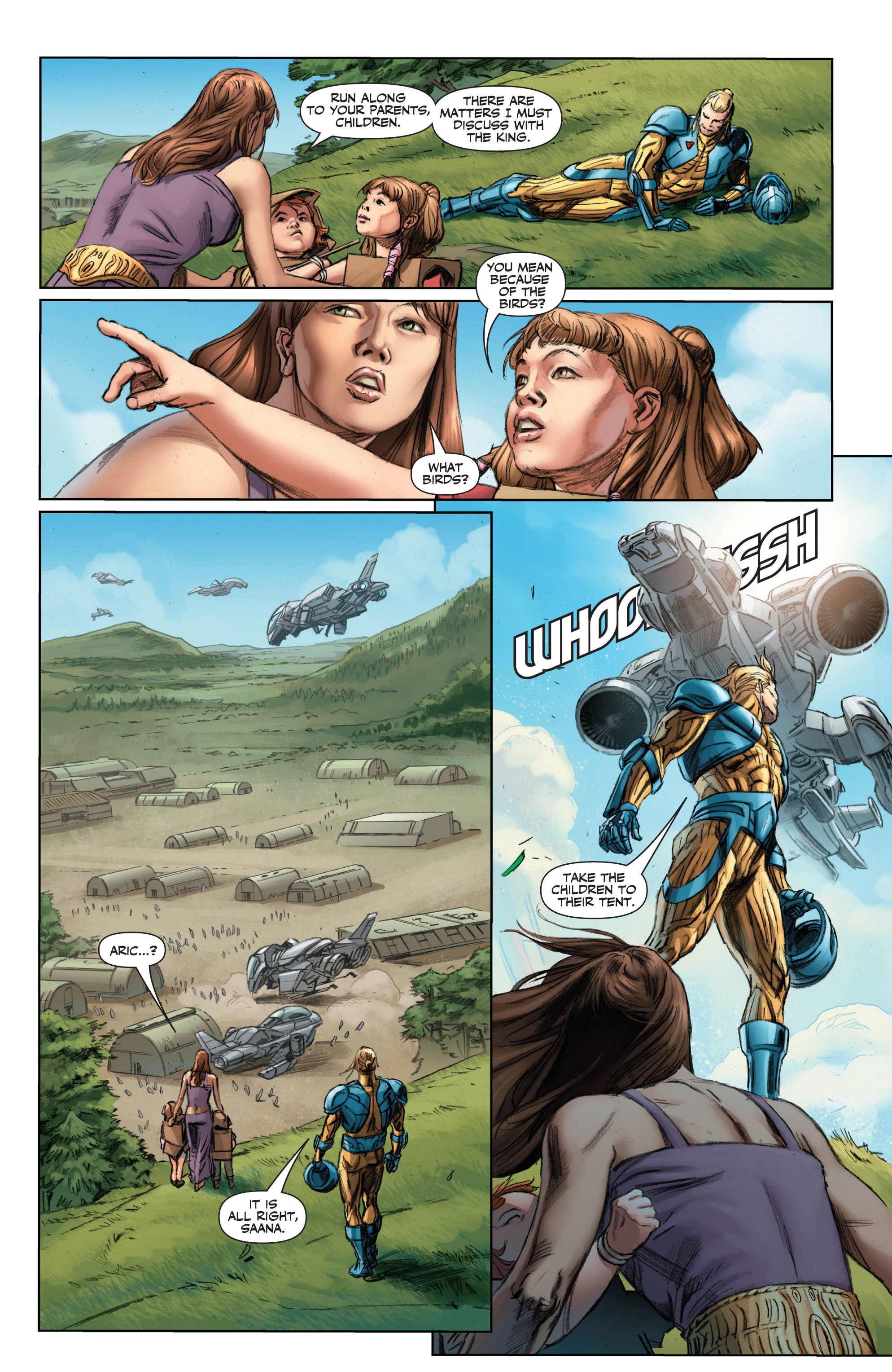 Read online Armor Hunters comic -  Issue #1 - 10