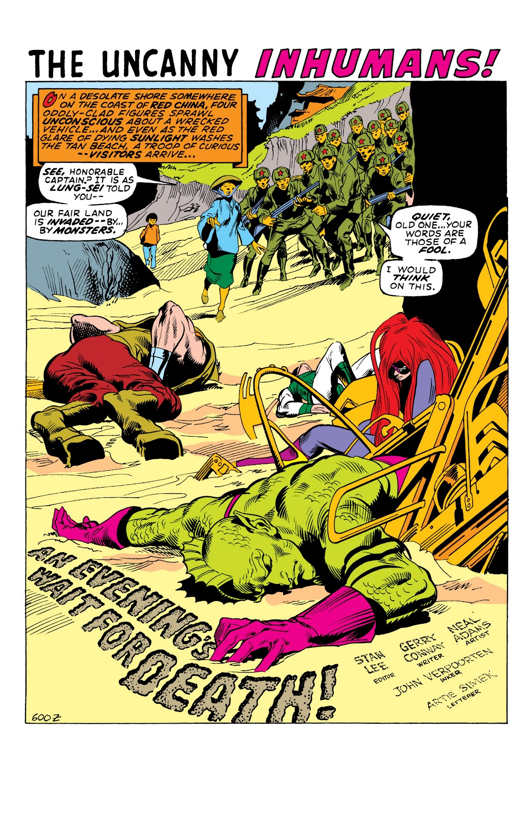 Read online Marvel Masterworks: The Inhumans comic -  Issue # TPB 1 (Part 2) - 36