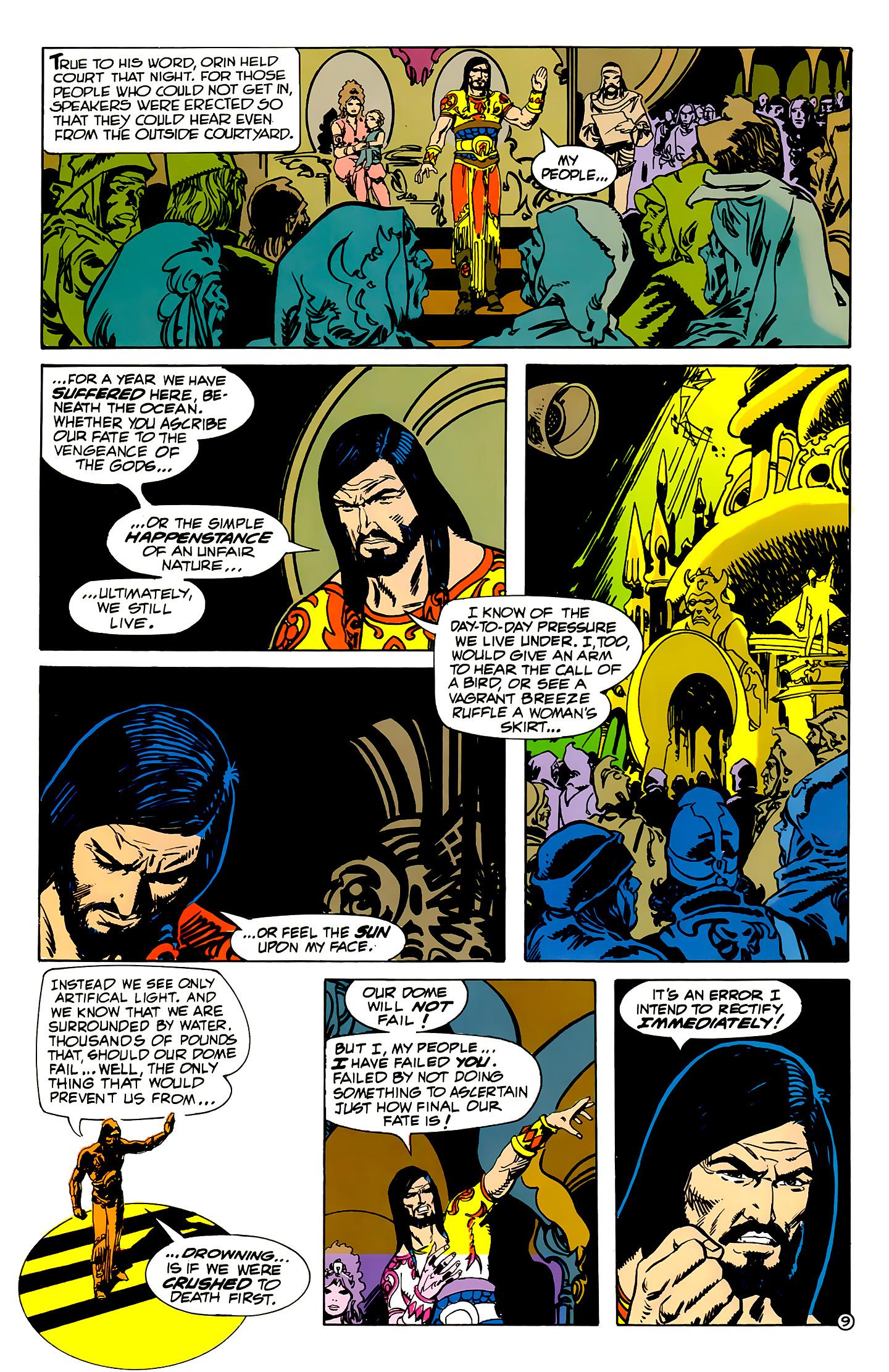 Read online Atlantis Chronicles comic -  Issue #2 - 9