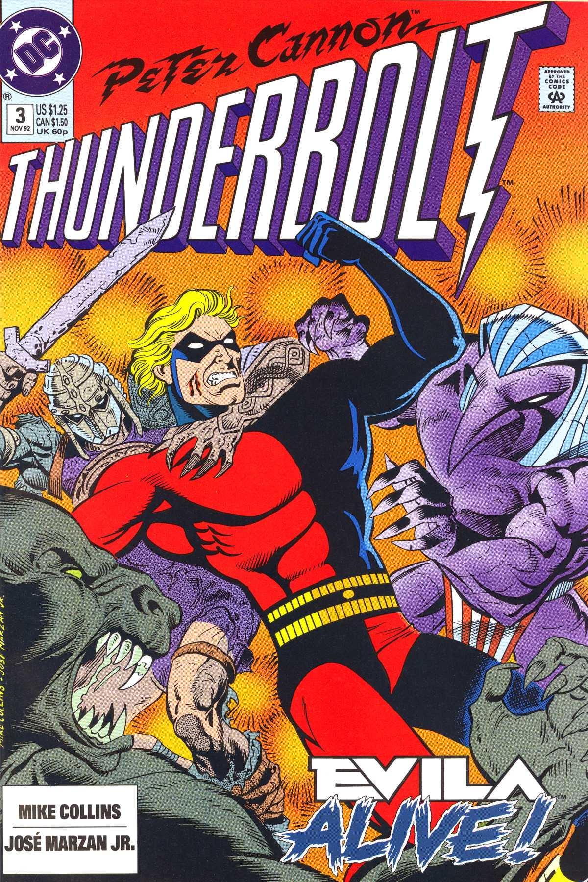 Read online Peter Cannon--Thunderbolt (1992) comic -  Issue #3 - 1