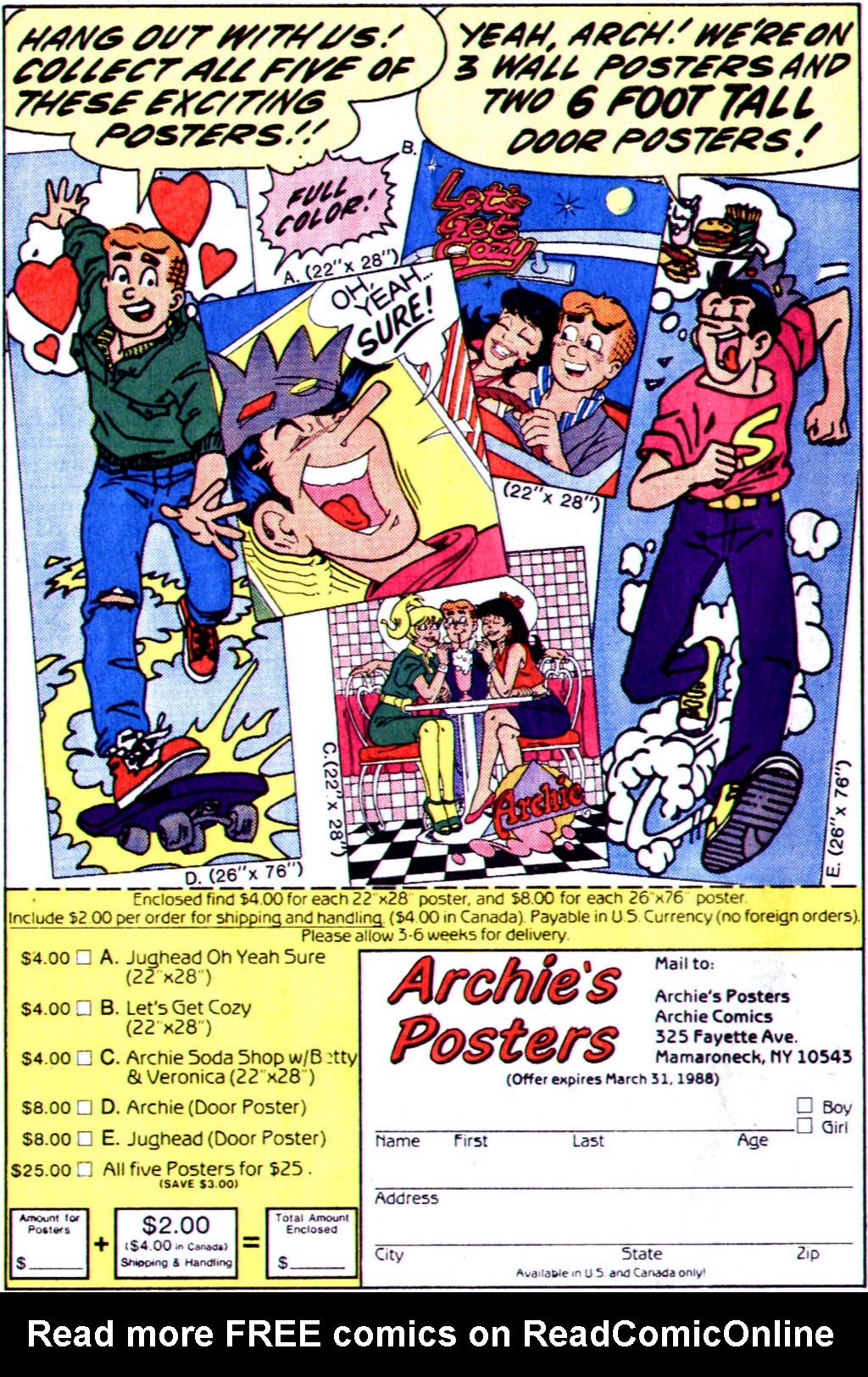 Read online Archie (1960) comic -  Issue #355 - 28