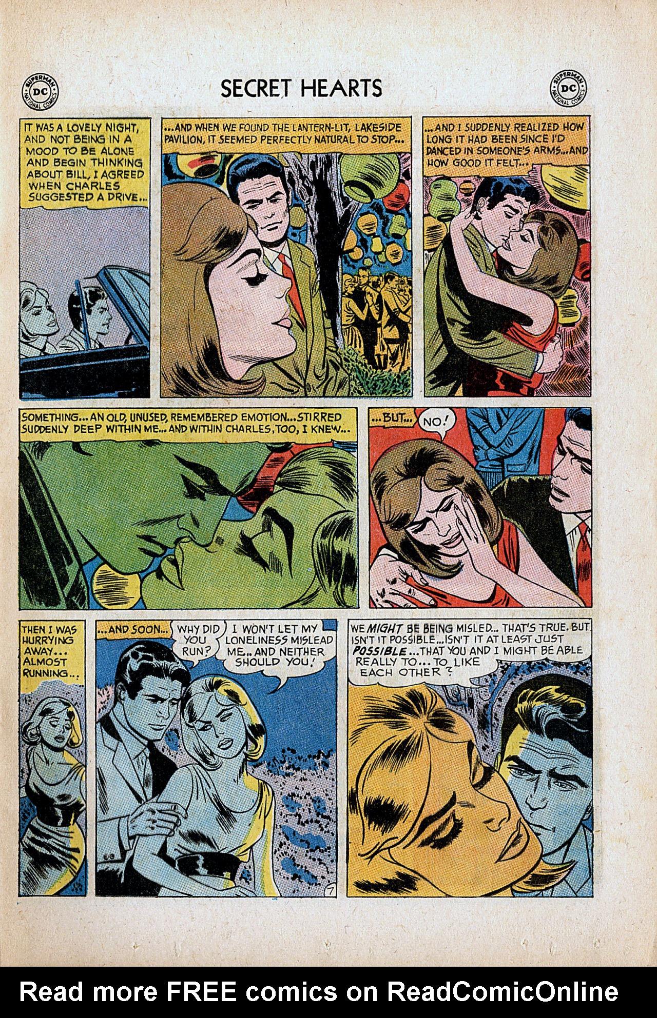 Read online Secret Hearts comic -  Issue #86 - 9