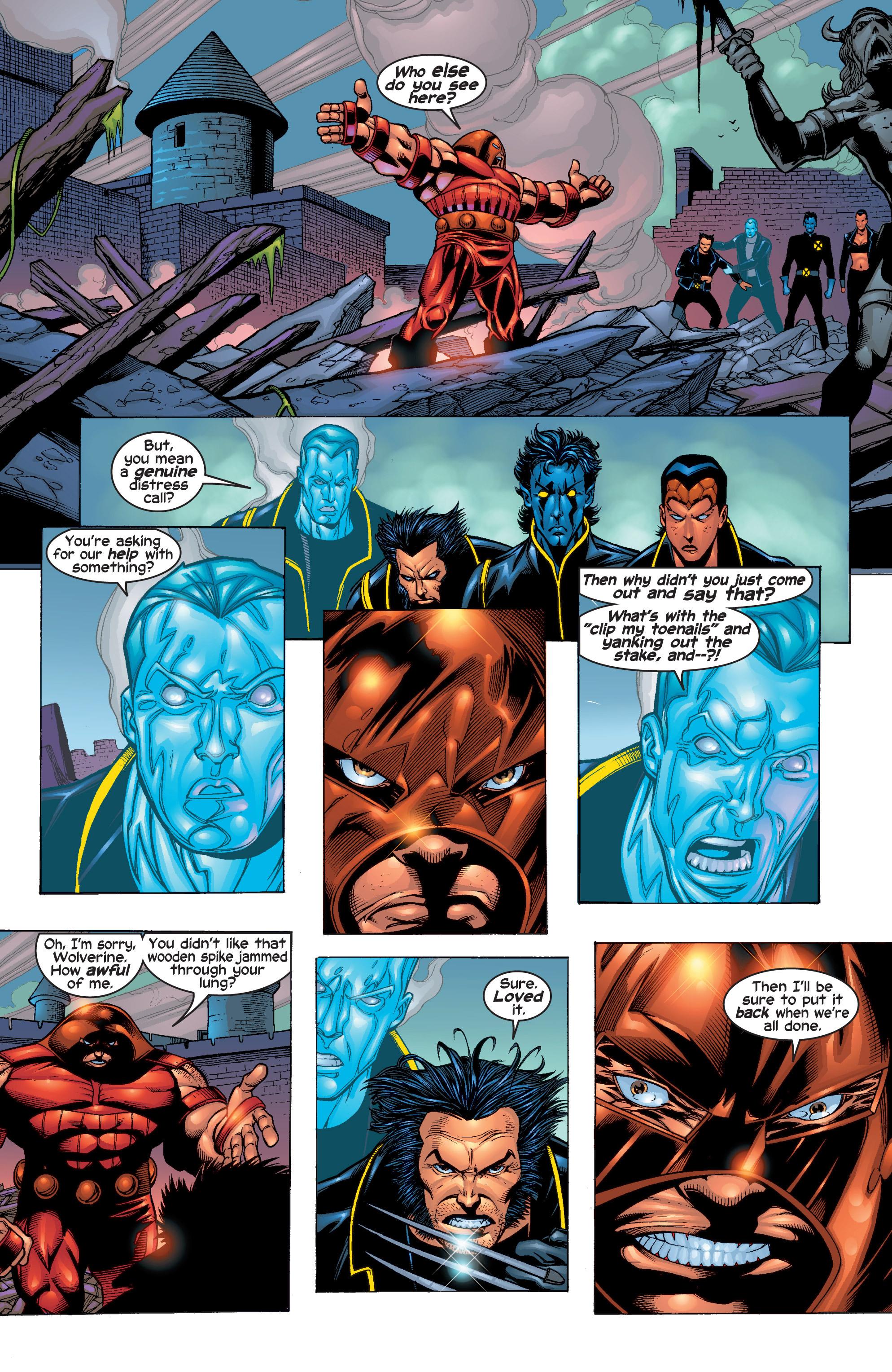 Read online Uncanny X-Men (1963) comic -  Issue #411 - 9