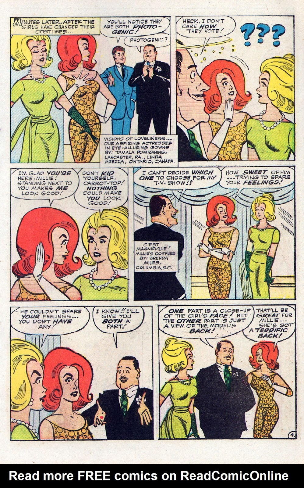 Read online Millie the Model comic -  Issue # Annual 2 - 15