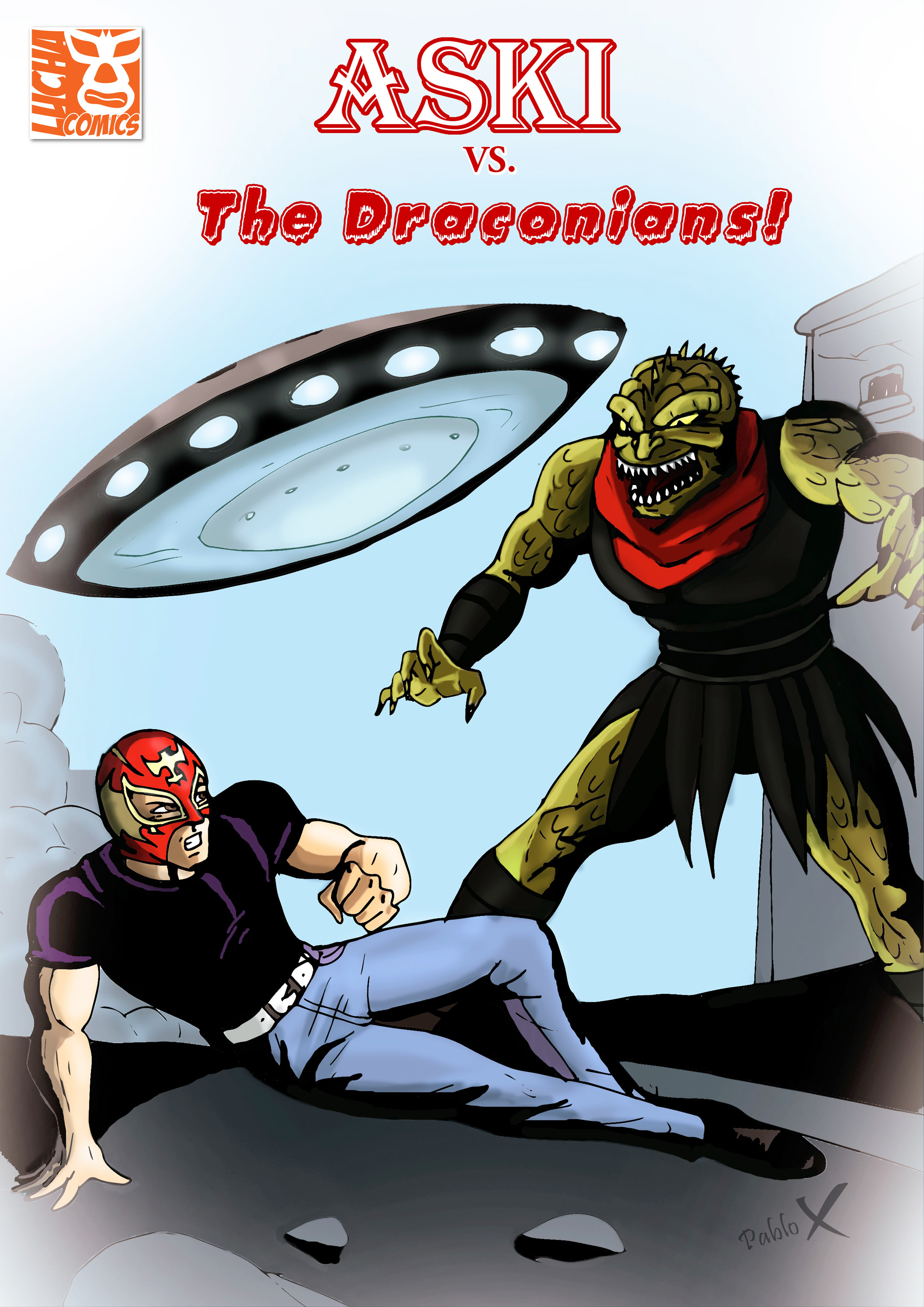 Read online Aski vs. The Draconians comic -  Issue #1 - 1