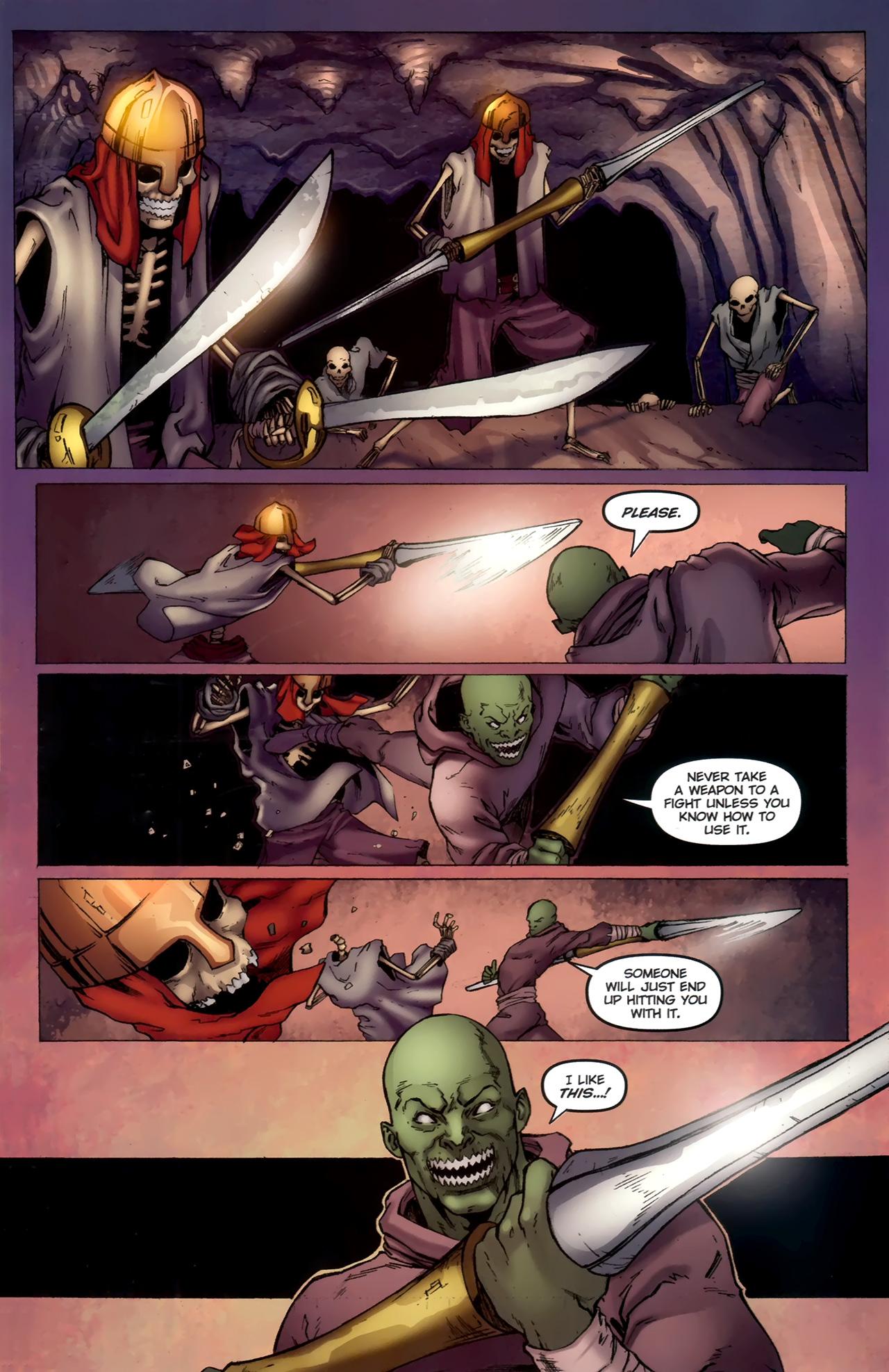 Read online 1001 Arabian Nights: The Adventures of Sinbad comic -  Issue #11 - 12