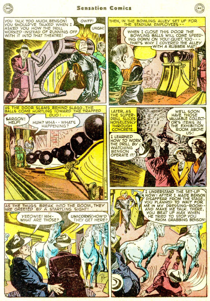 Read online Sensation (Mystery) Comics comic -  Issue #77 - 28