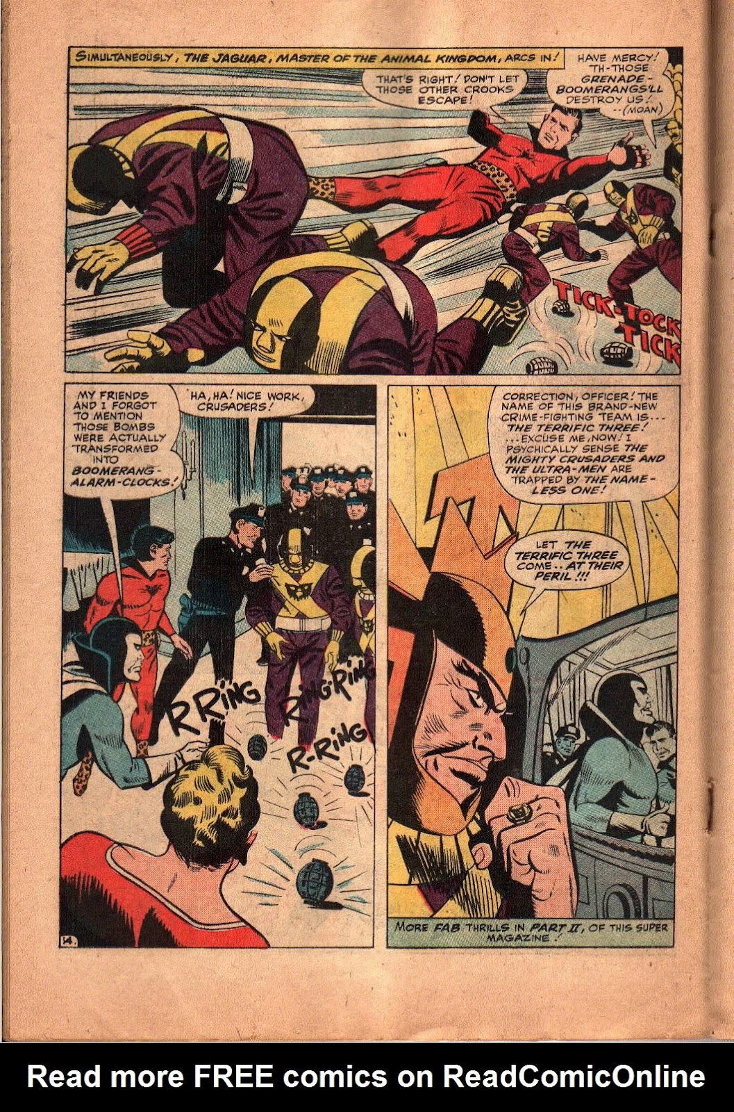 The Mighty Crusaders (1965) Issue #5 #5 - English 15