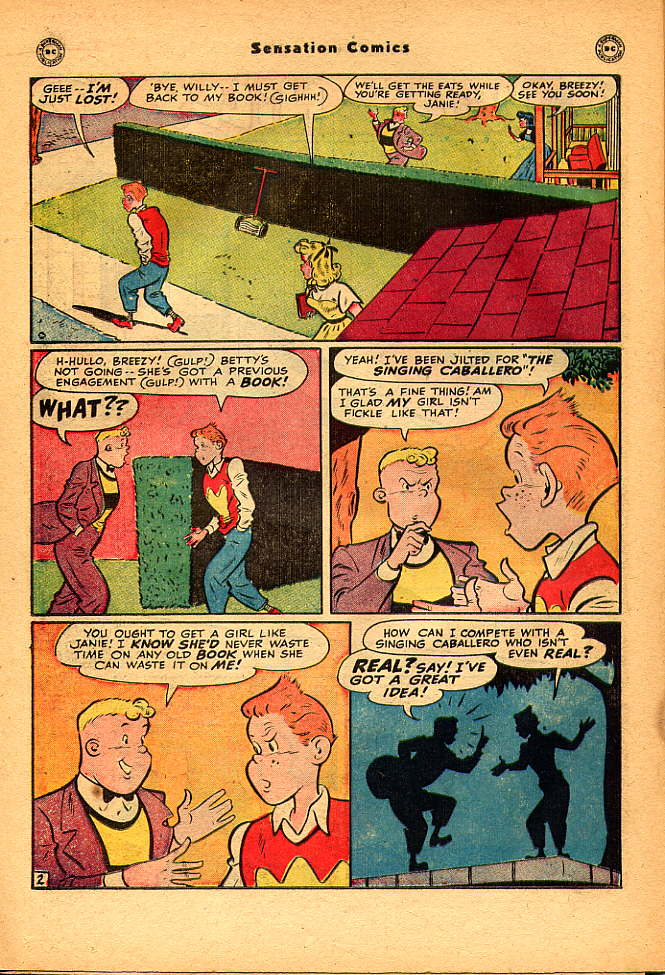 Read online Sensation (Mystery) Comics comic -  Issue #83 - 32