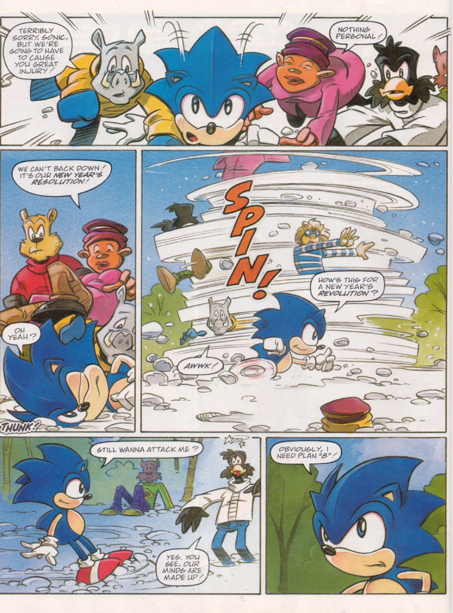 Read online Sonic the Comic comic -  Issue #120 - 6