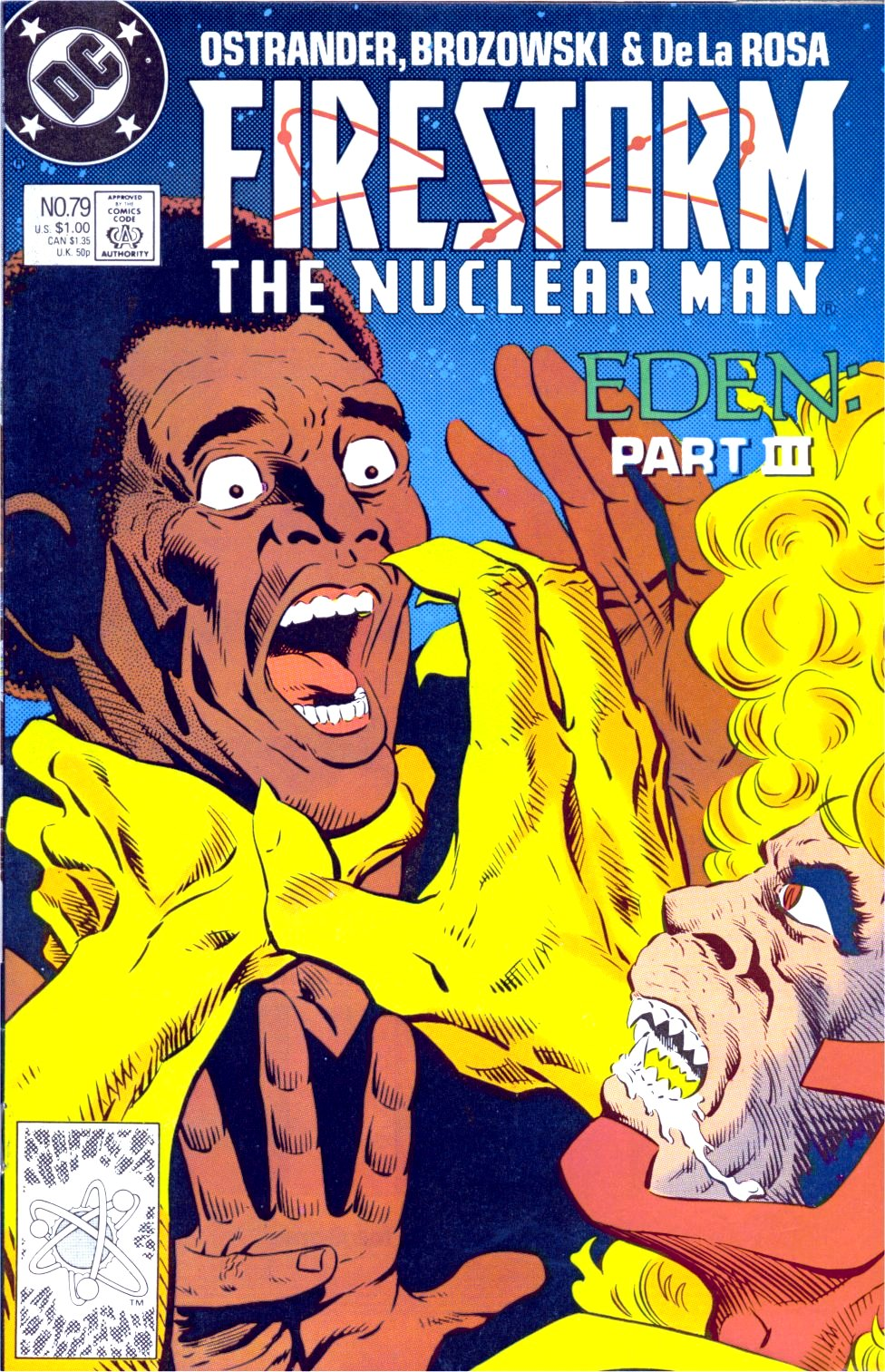 Firestorm, the Nuclear Man 79 Page 1