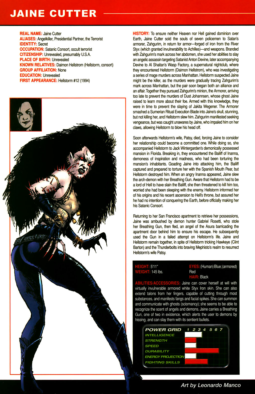 Read online All-New Official Handbook of the Marvel Universe A to Z comic -  Issue #3 - 14