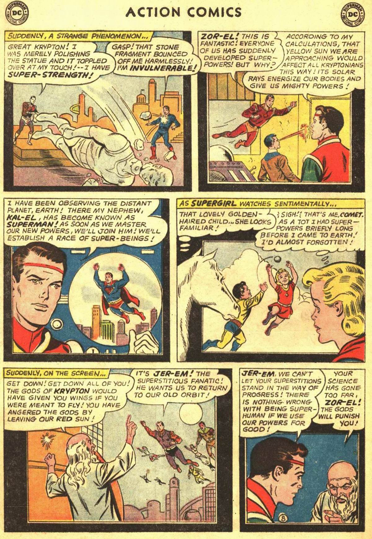 Read online Action Comics (1938) comic -  Issue #309 - 28