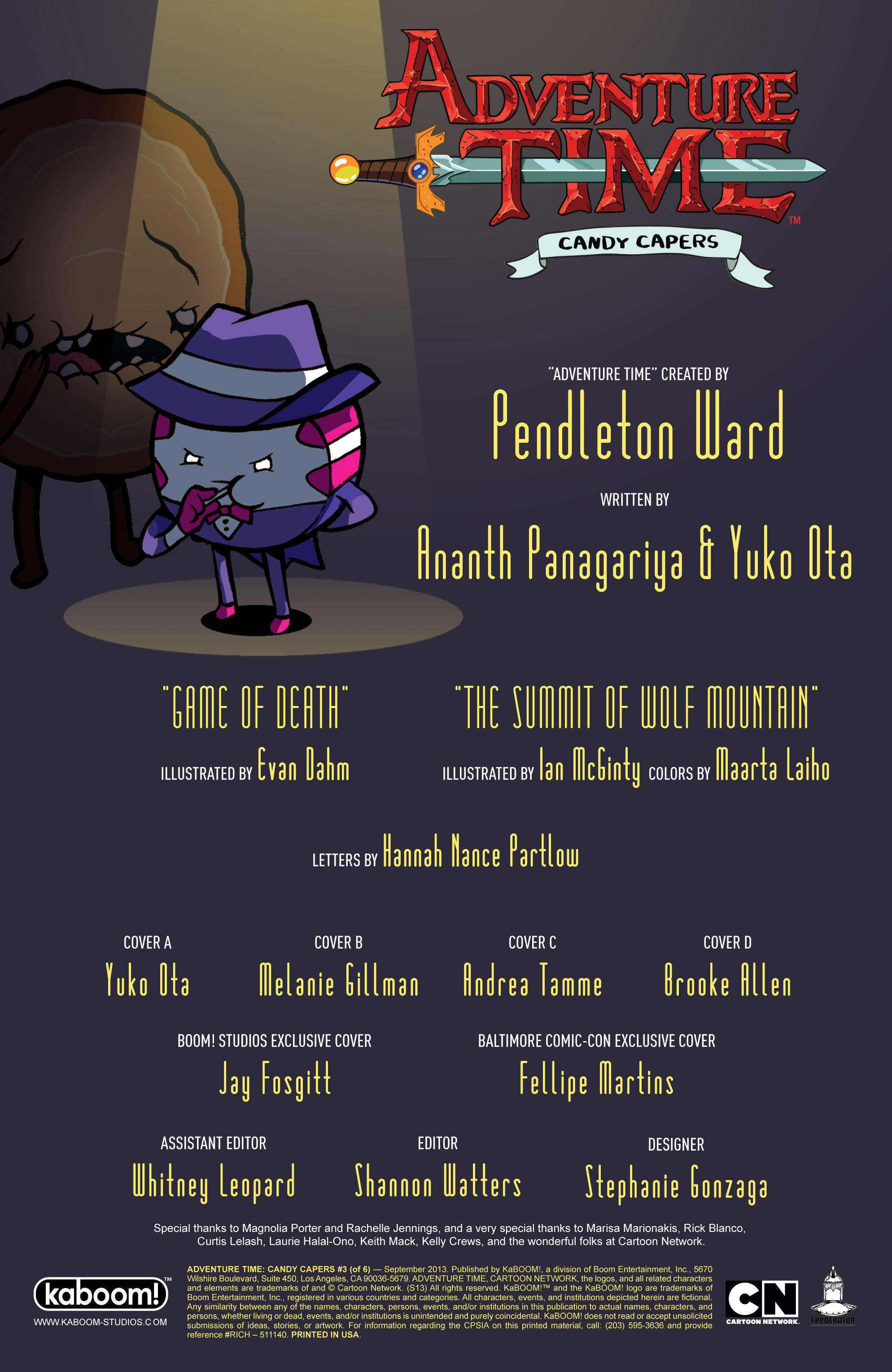 Read online Adventure Time: Candy Capers comic -  Issue #3 - 5