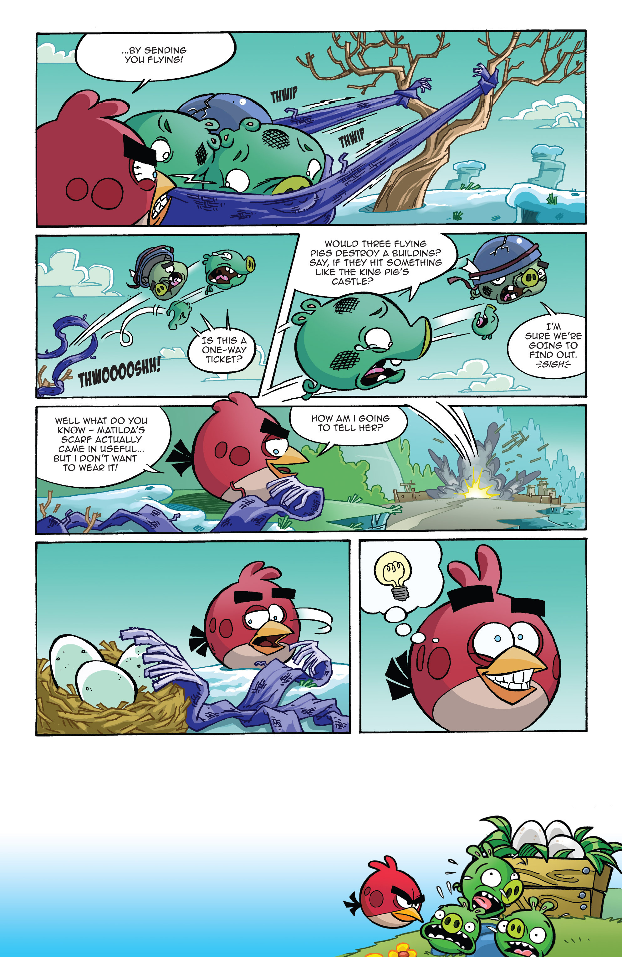 Read online Angry Birds Comics (2014) comic -  Issue #10 - 19