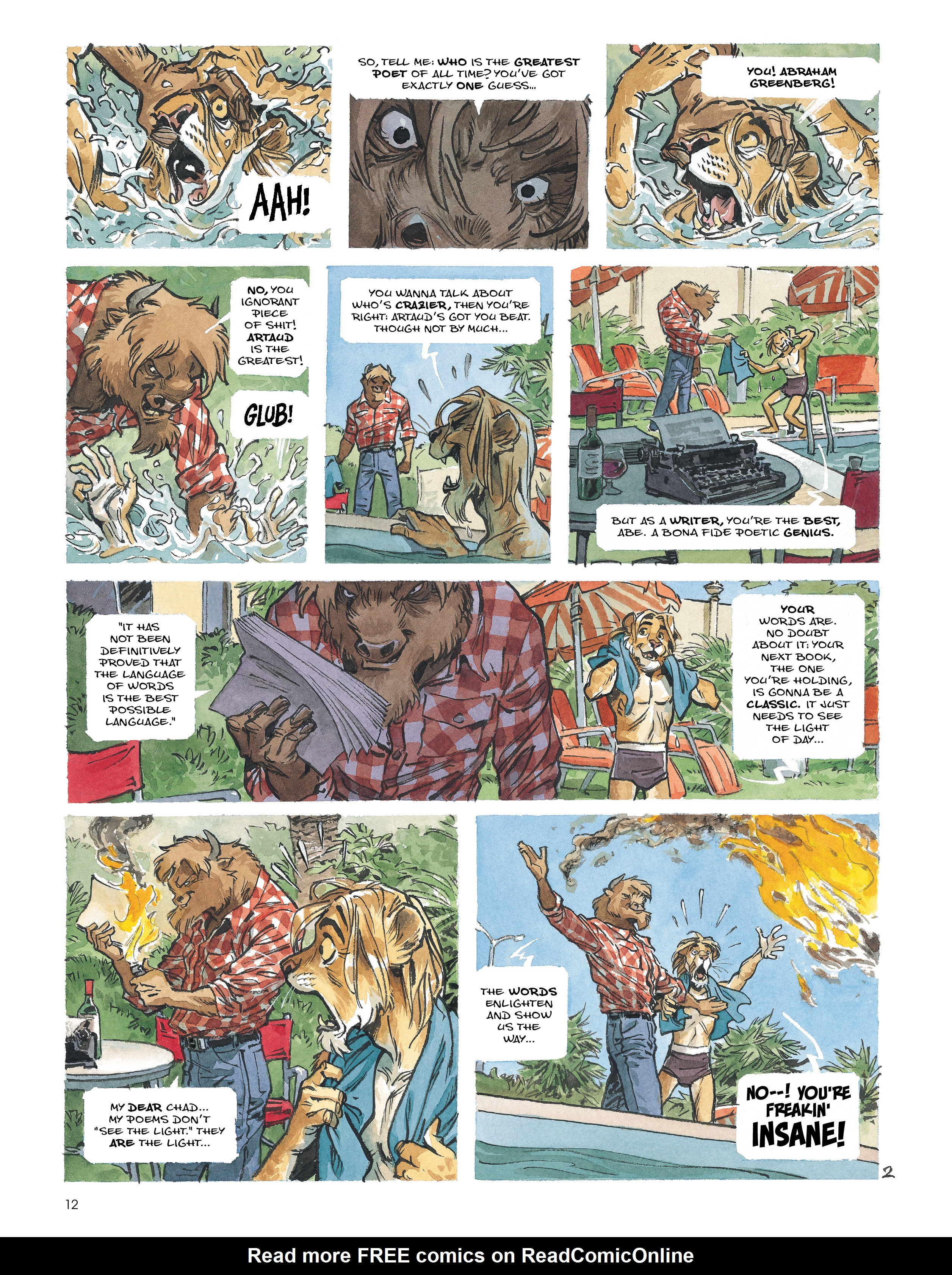 Read online Blacksad: Amarillo comic -  Issue # Full - 11