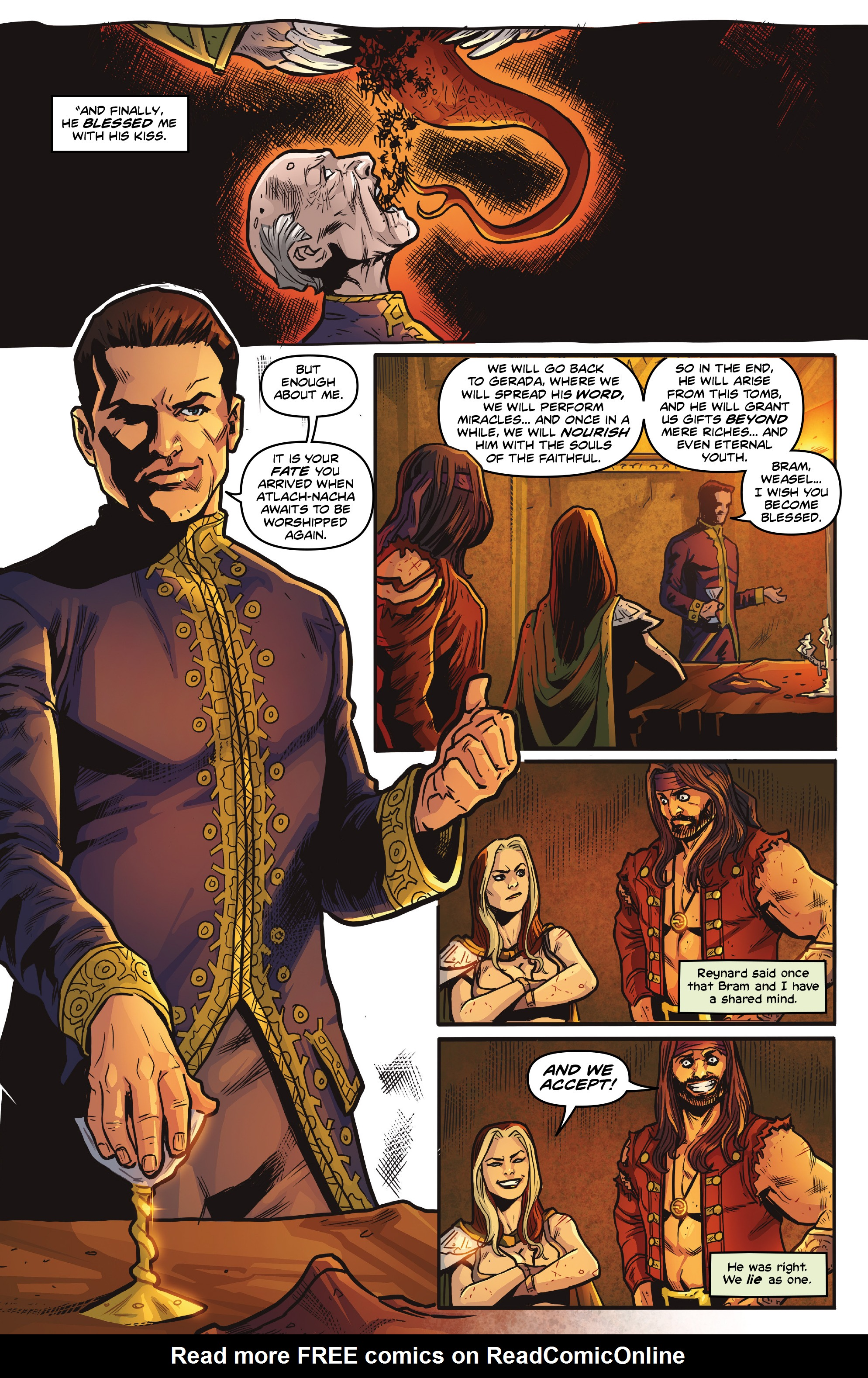 Read online Rogues!: The Burning Heart comic -  Issue #5 - 13