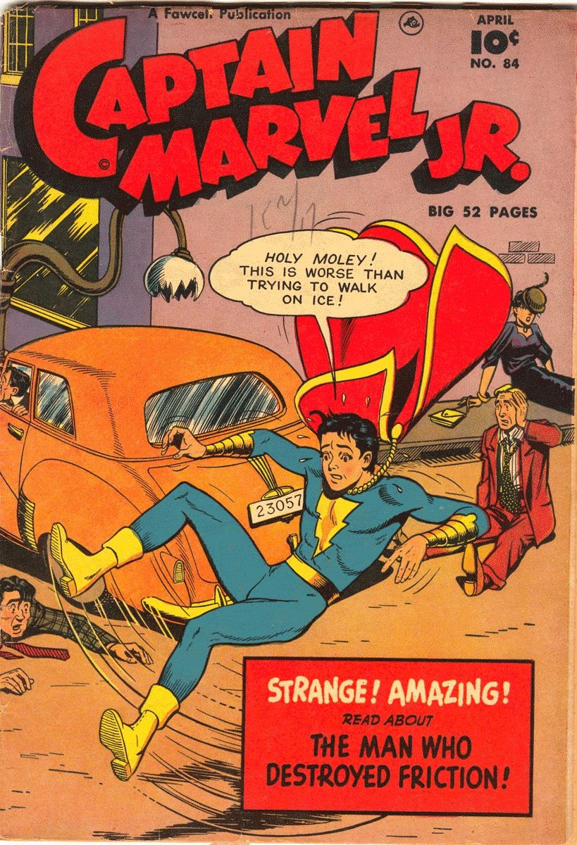 Captain Marvel, Jr. issue 84 - Page 1
