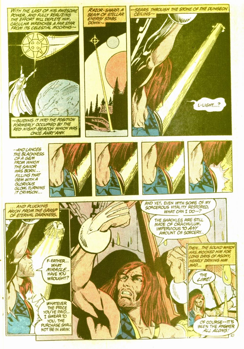 Read online Arion, Lord of Atlantis comic -  Issue #5 - 11