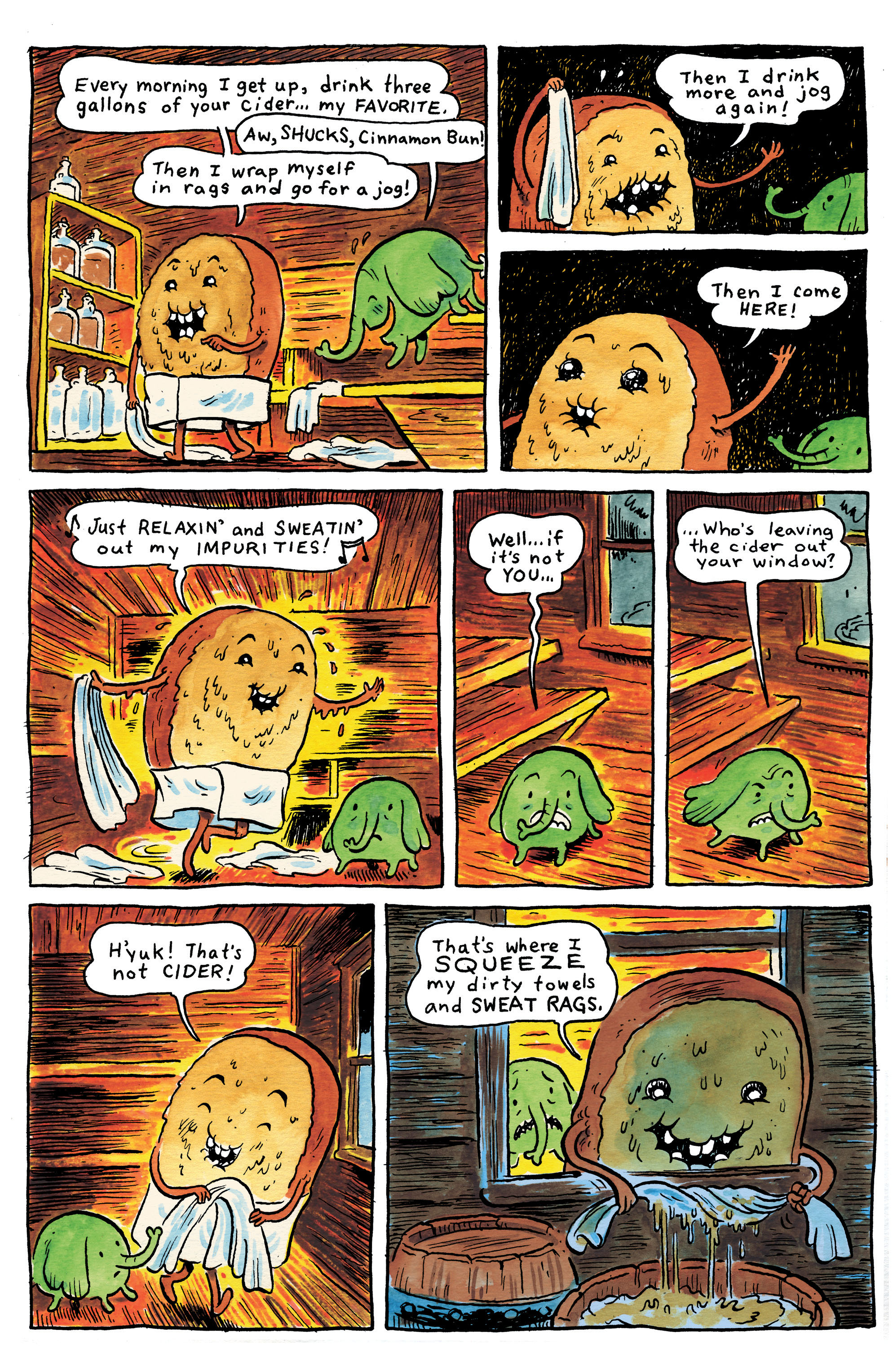 Read online Adventure Time comic -  Issue #1 - 27