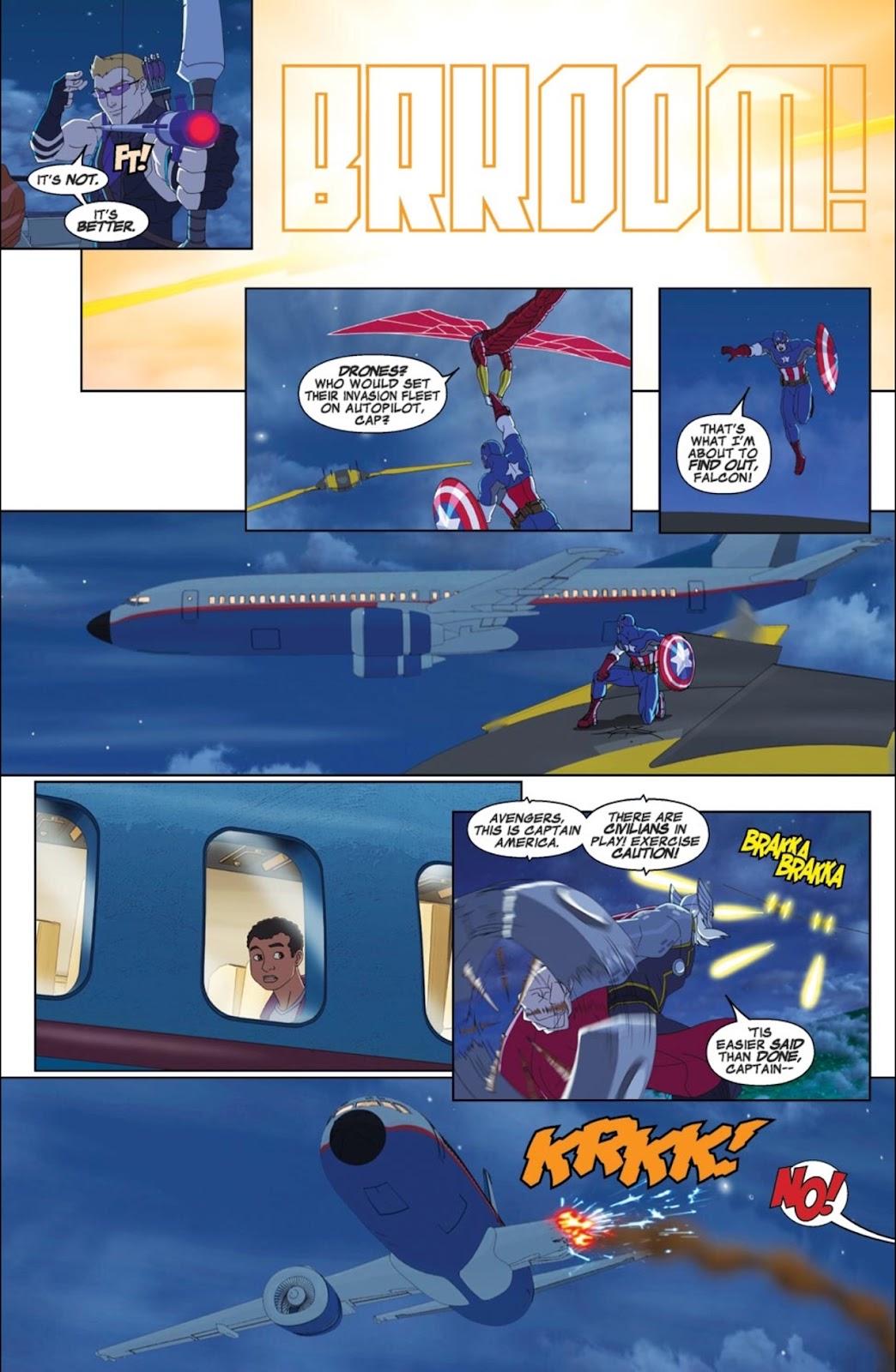 Read online Marvel Universe Avengers Assemble Season 2 comic -  Issue #1 - 3