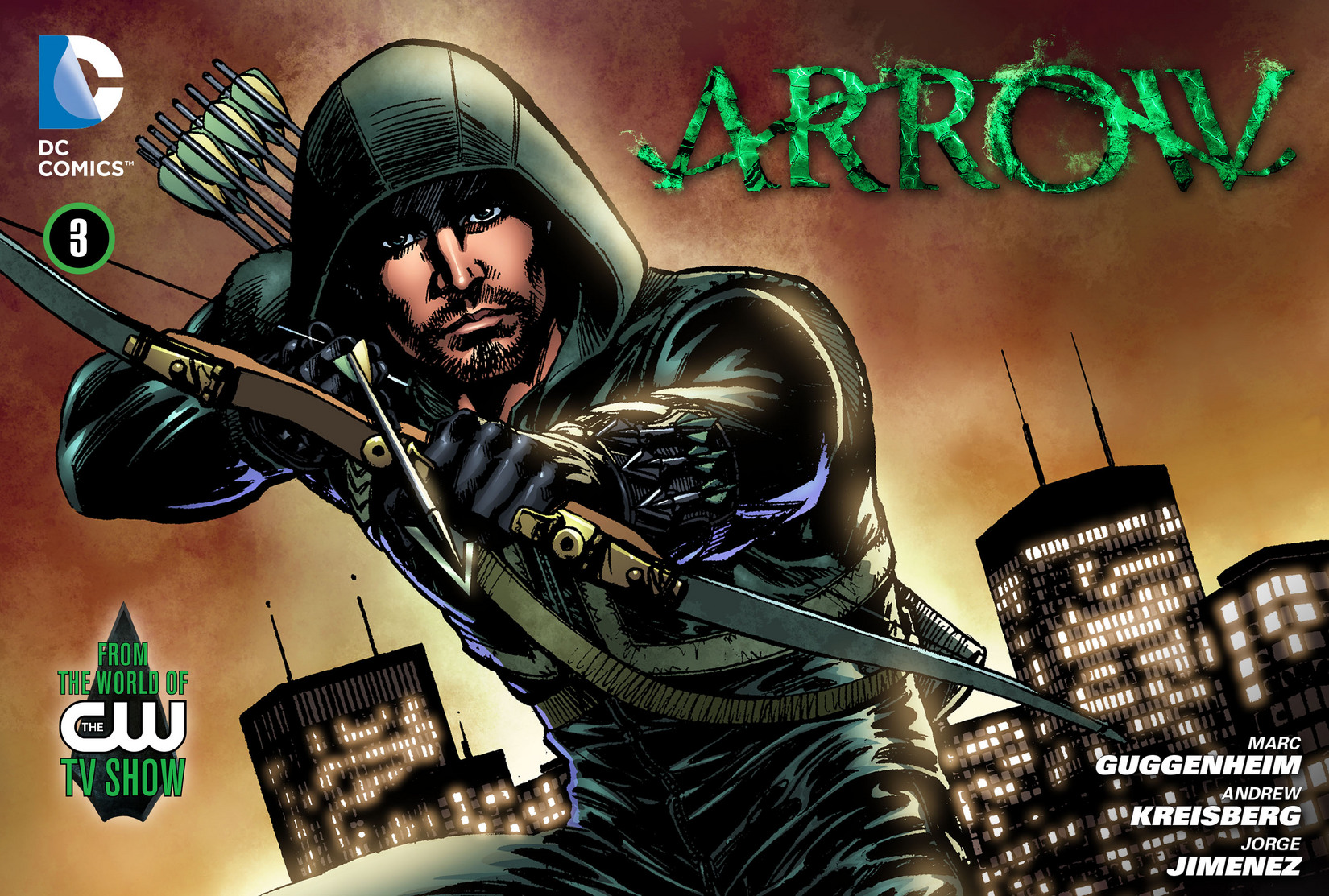 Read online Arrow [II] comic -  Issue #3 - 1