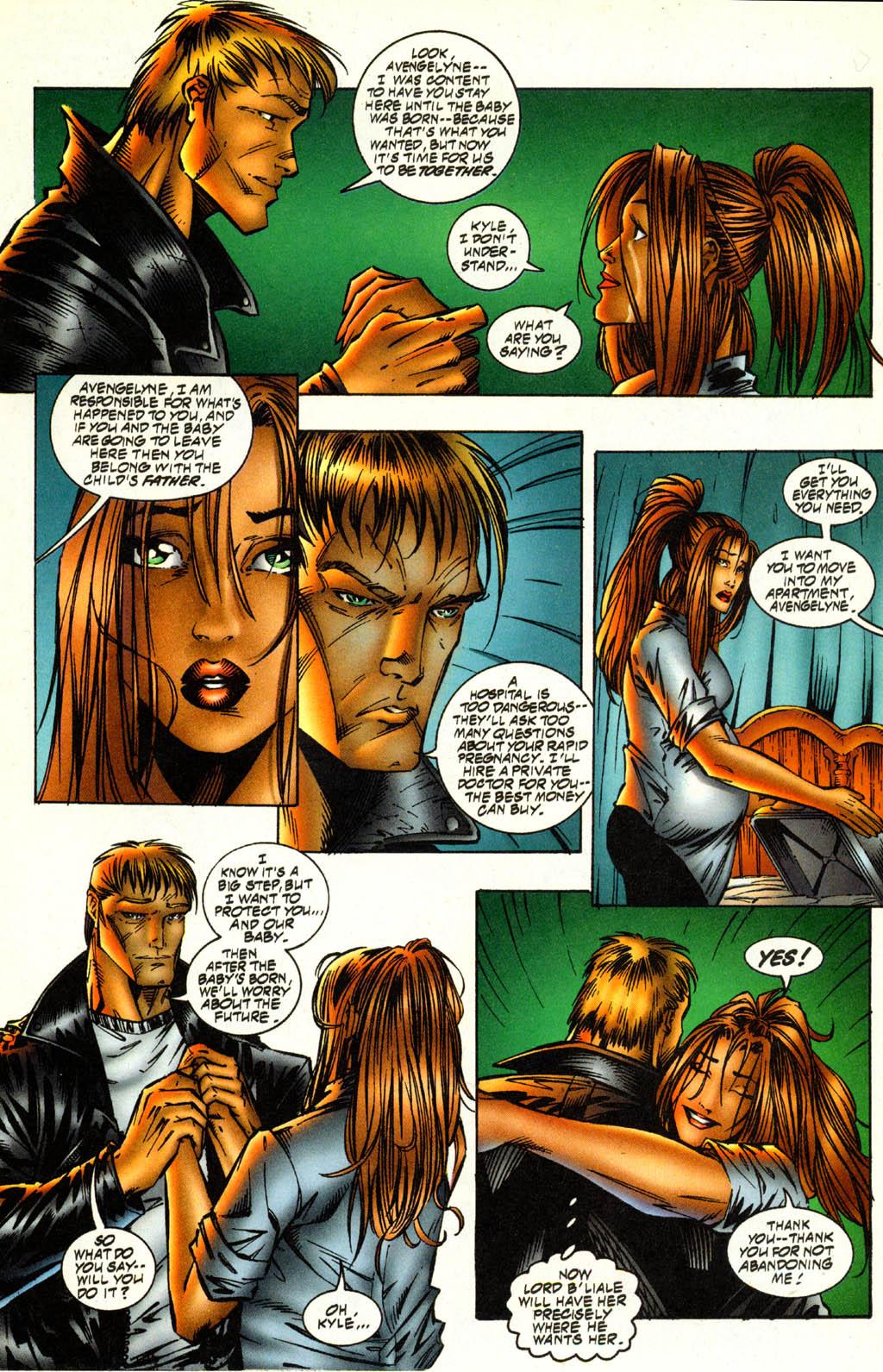 Read online Avengelyne (1996) comic -  Issue #2 - 9