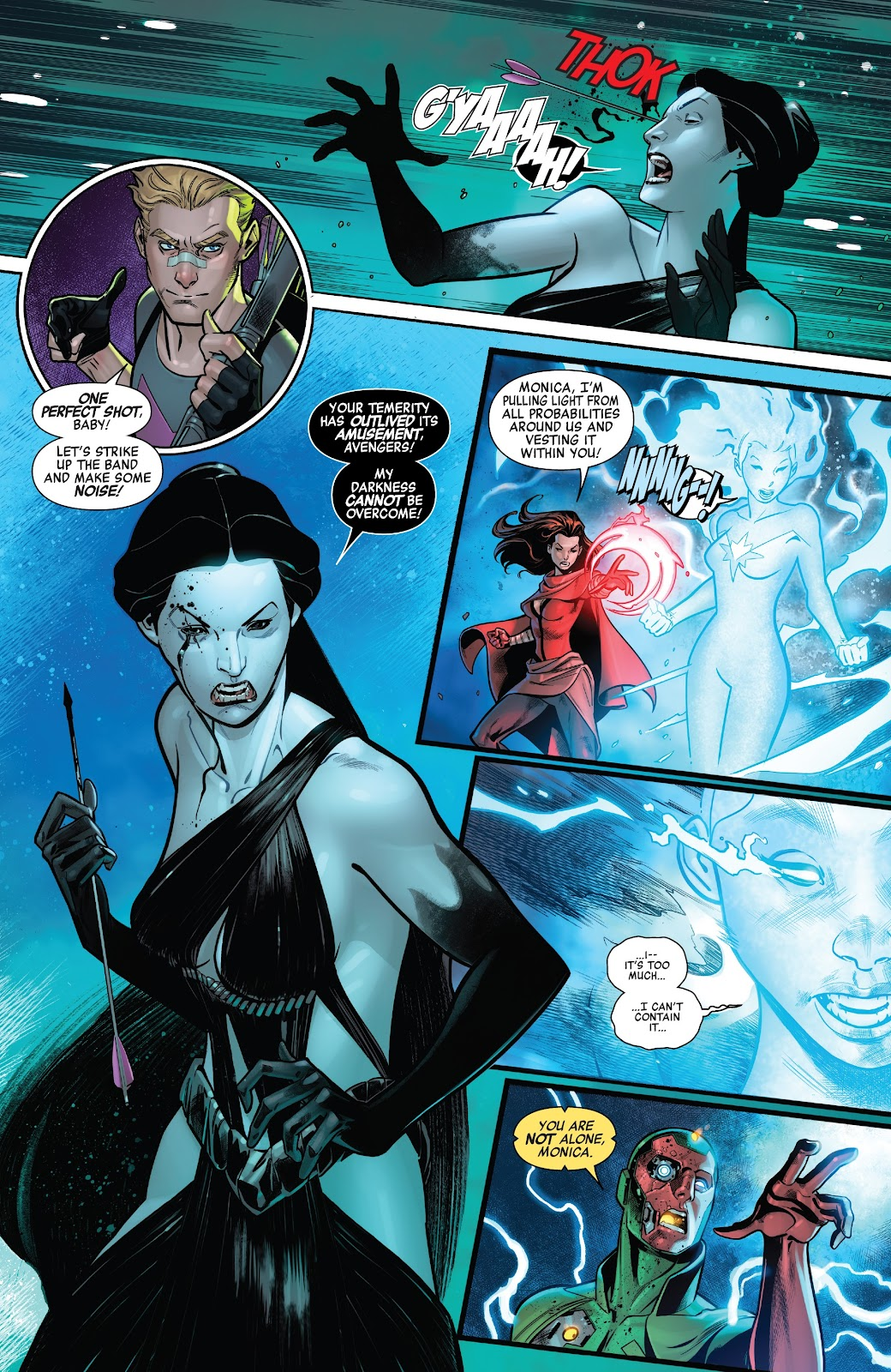 Read online Avengers No Road Home comic -  Issue #9 - 11