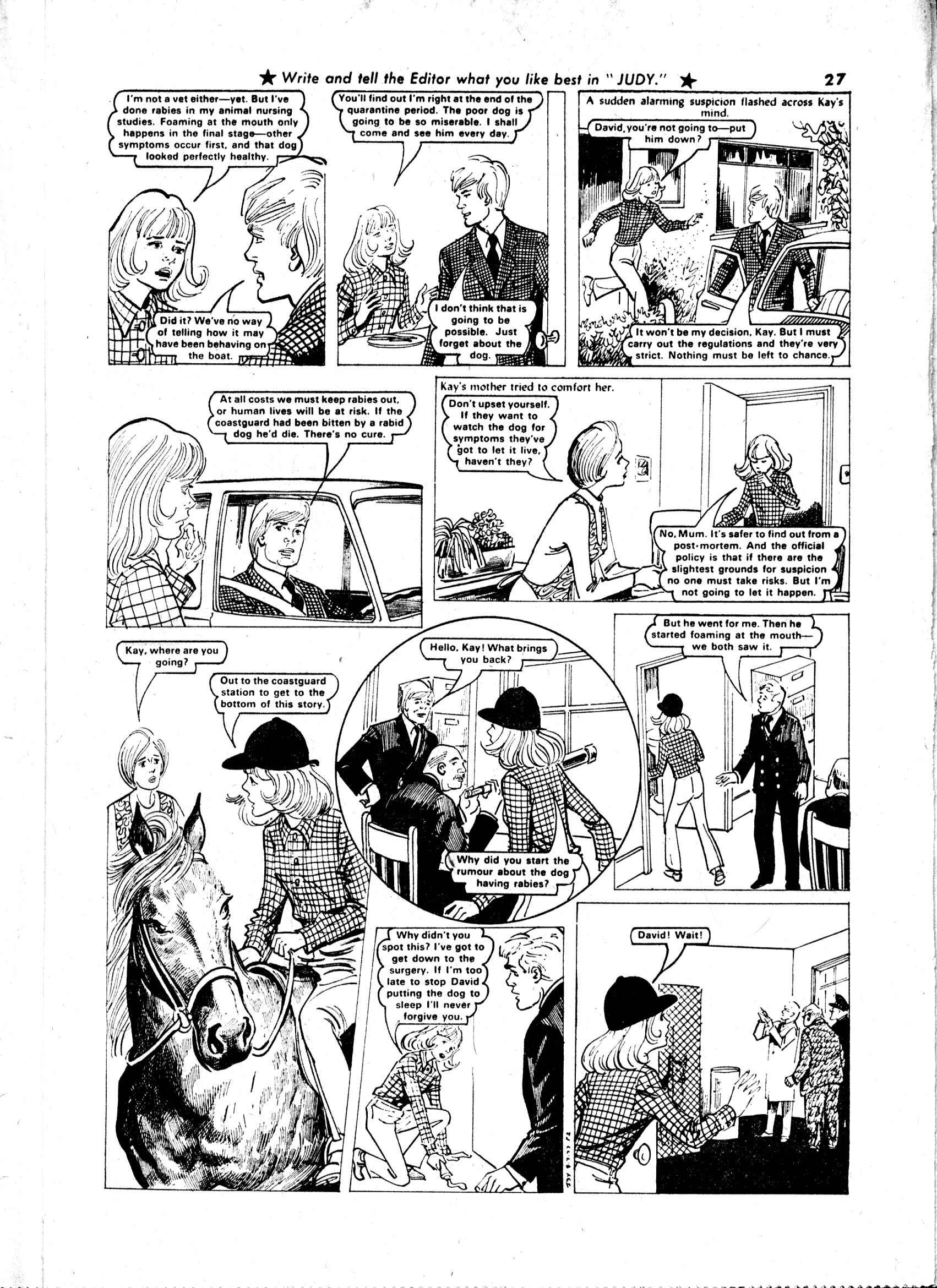 Read online Judy comic -  Issue #913 - 27