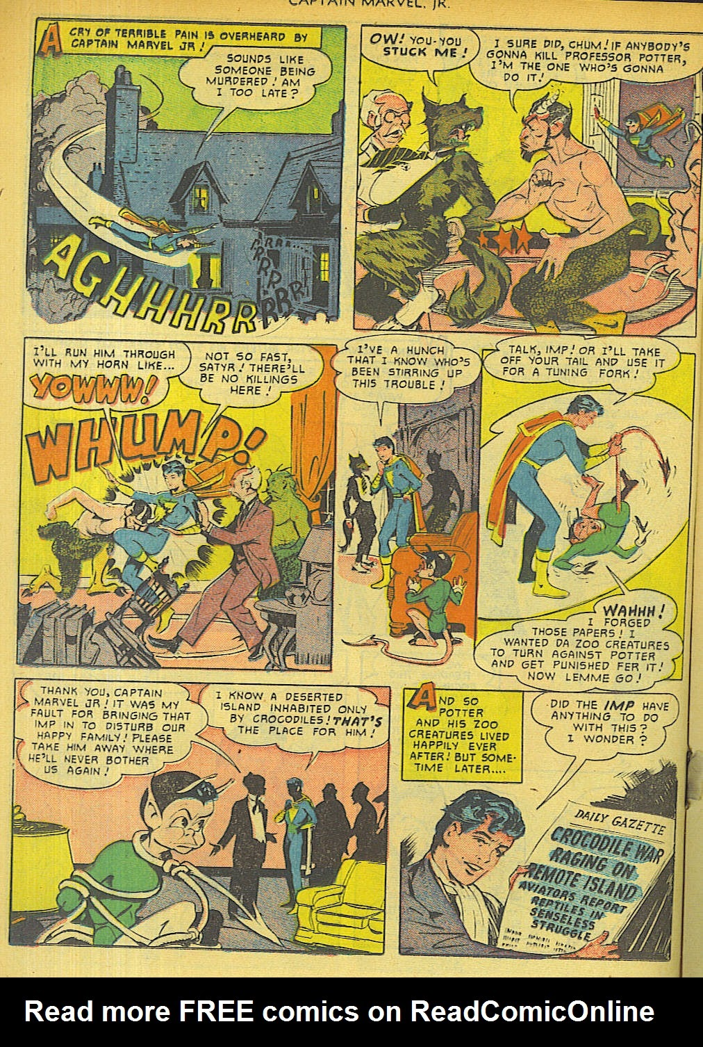 Captain Marvel, Jr. issue 96 - Page 24